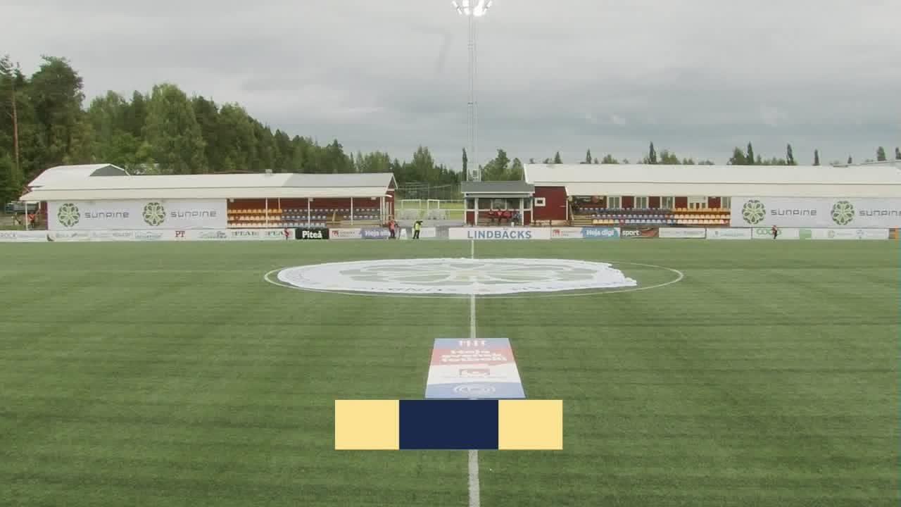 Highlights: Piteå - Växjö 25 juli