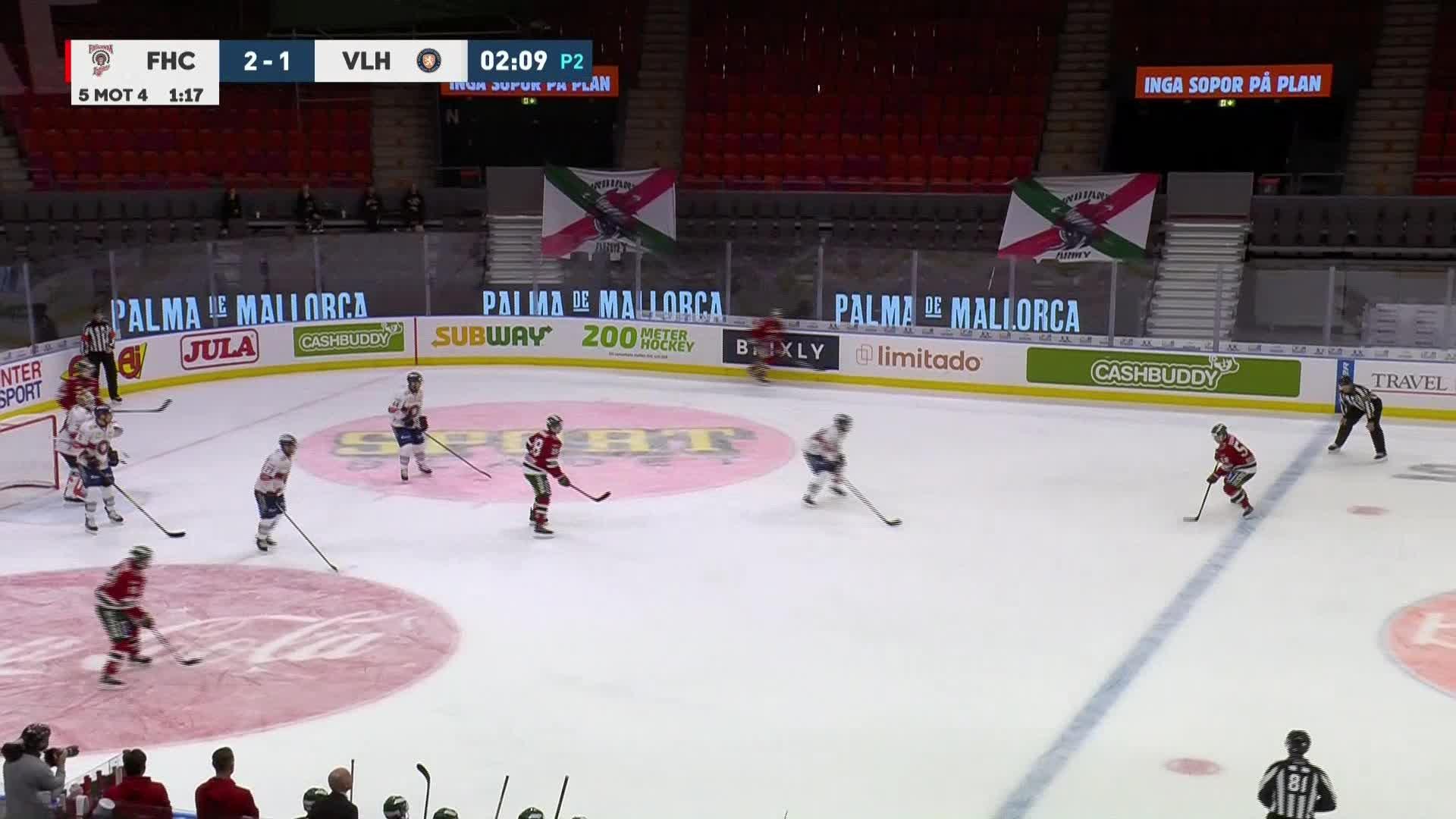Frölunda HC - Växjö Lakers 3-1