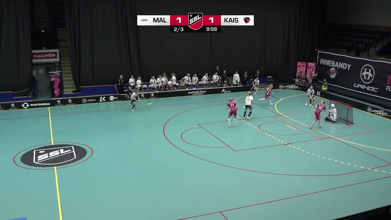 Highlights: Malmö FBC - KAIS Mora