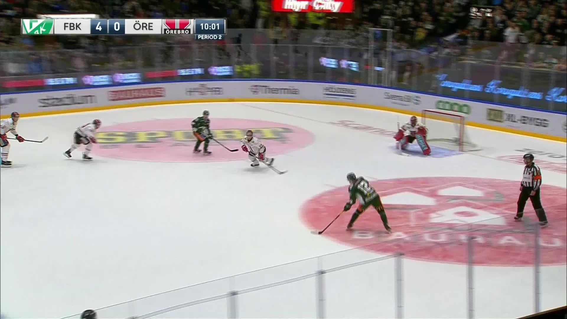 Färjestad BK - Örebro Hockey 5-0