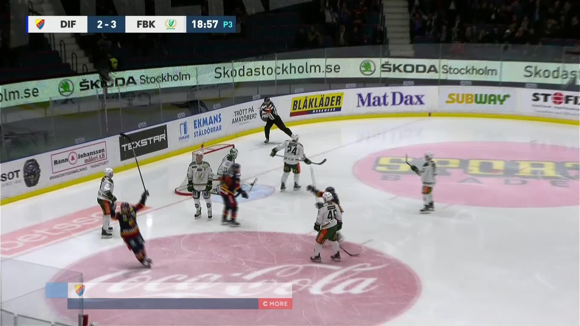 Djurgården Hockey - Färjestad BK 3-3
