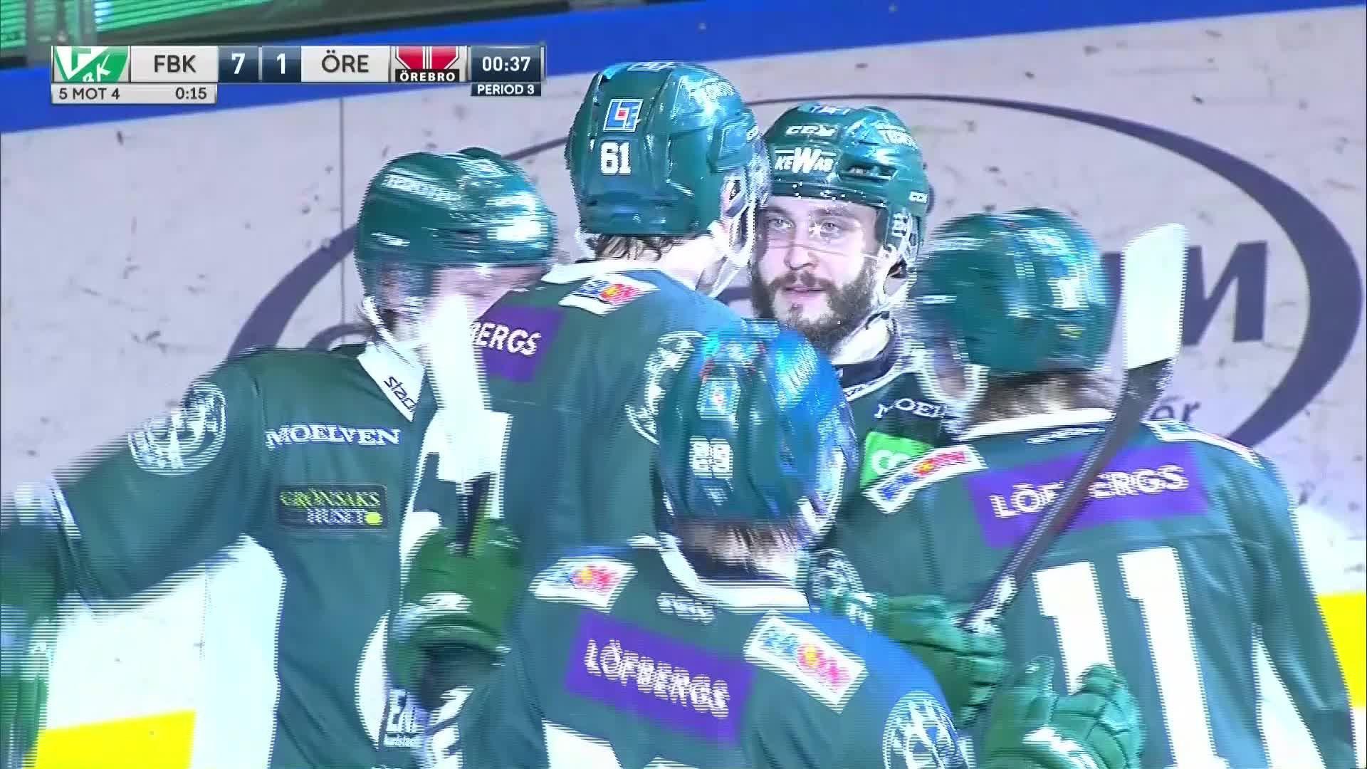 Färjestad BK - Örebro Hockey 7-1