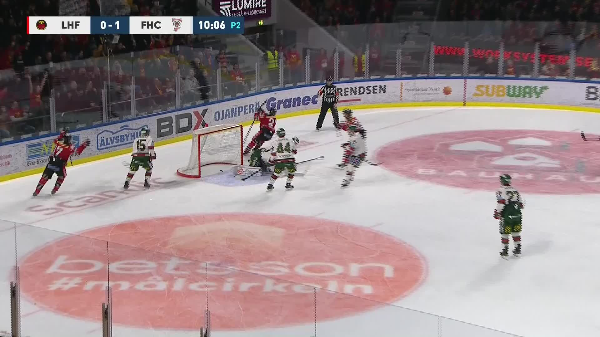 Luleå Hockey - Frölunda HC 1-1