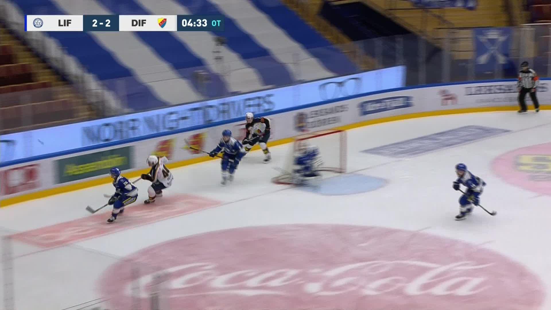 Leksands IF - Djurgården Hockey 3-2