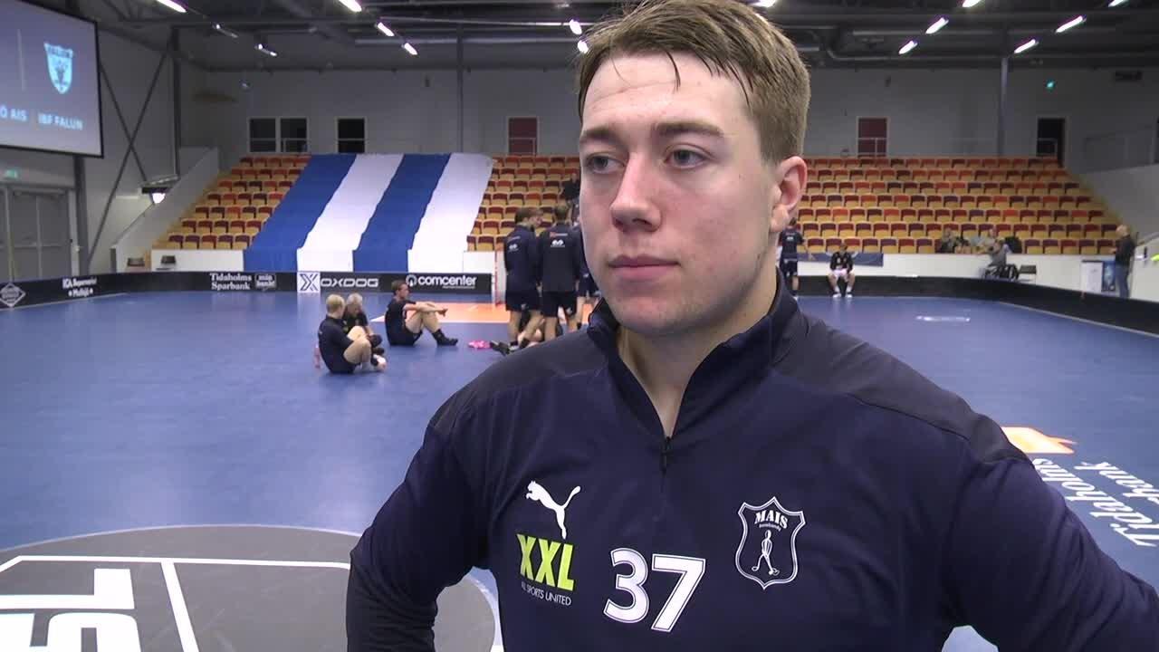 """Gustav Johansson """"Skönt att vara tillbaka"""""""
