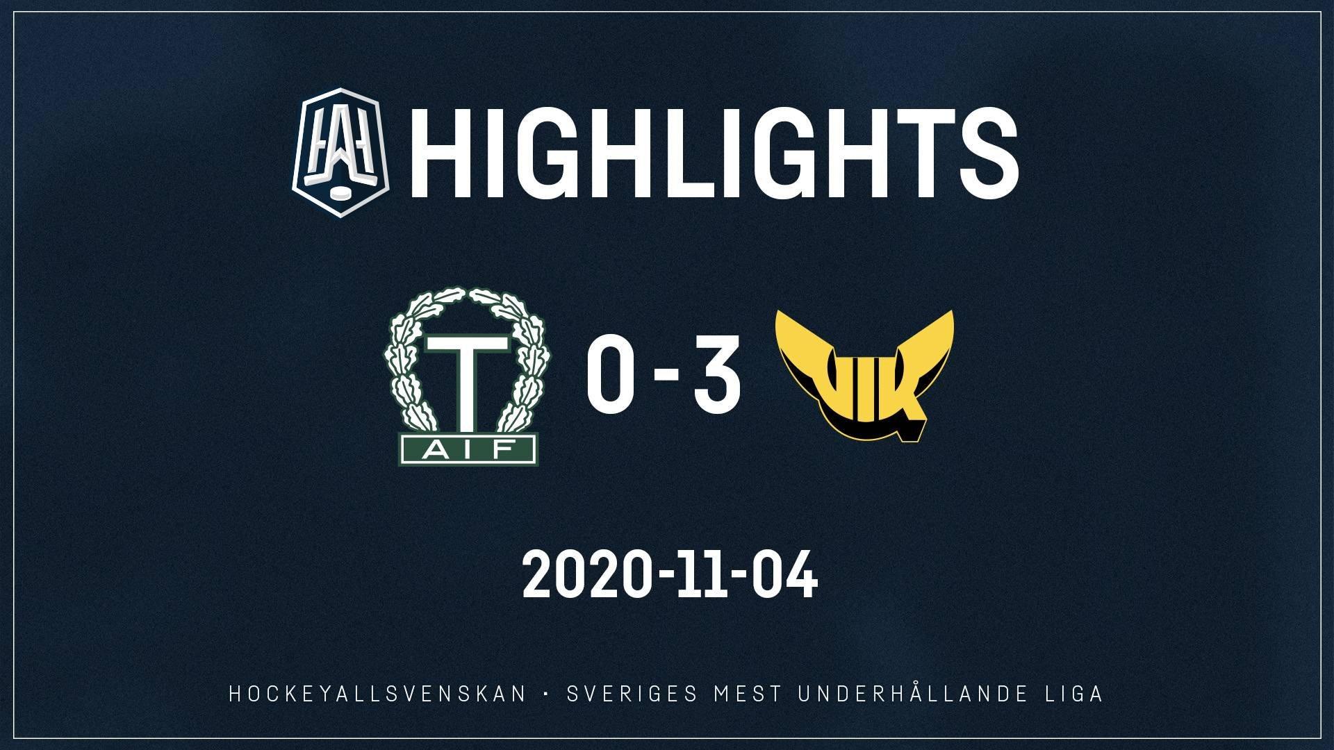 2020-11-04 Tingsryd - Västerås 0-3