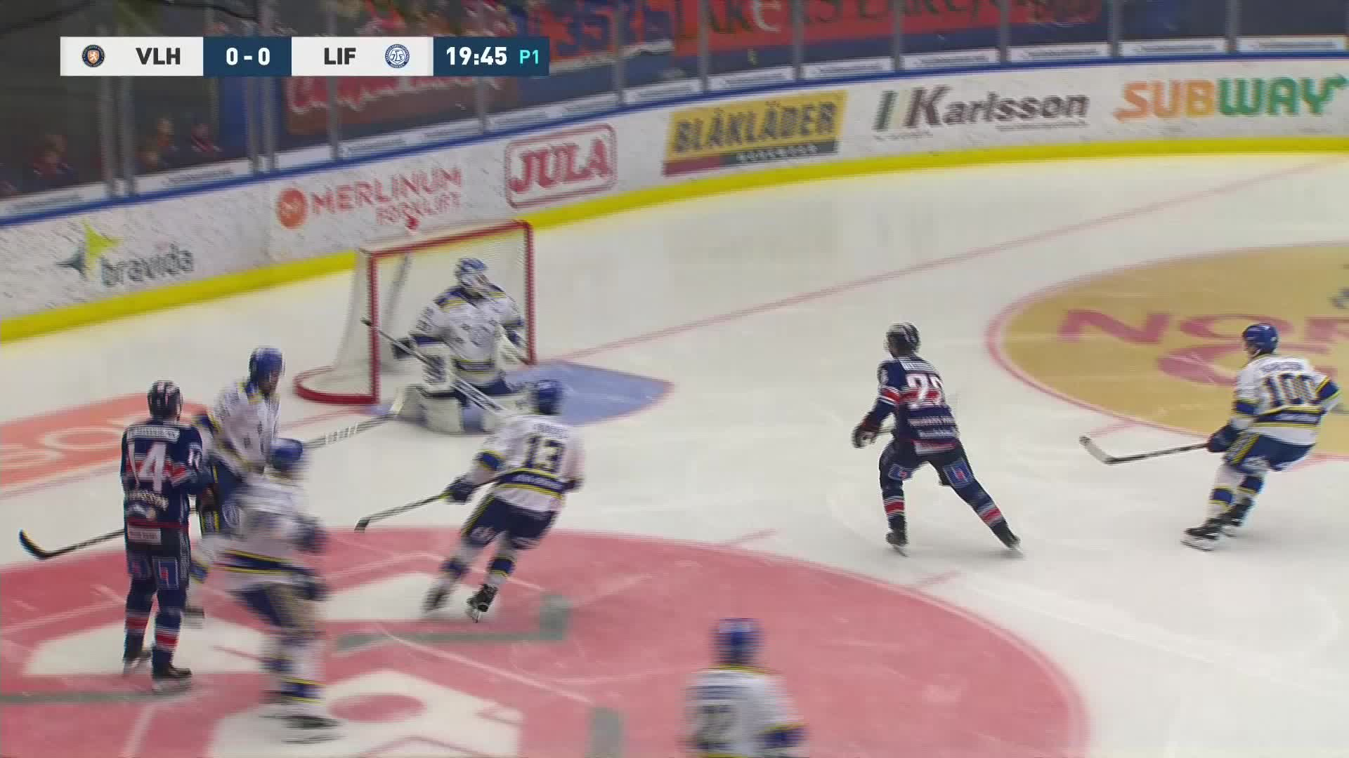 Växjö Lakers - Leksands IF 1-0