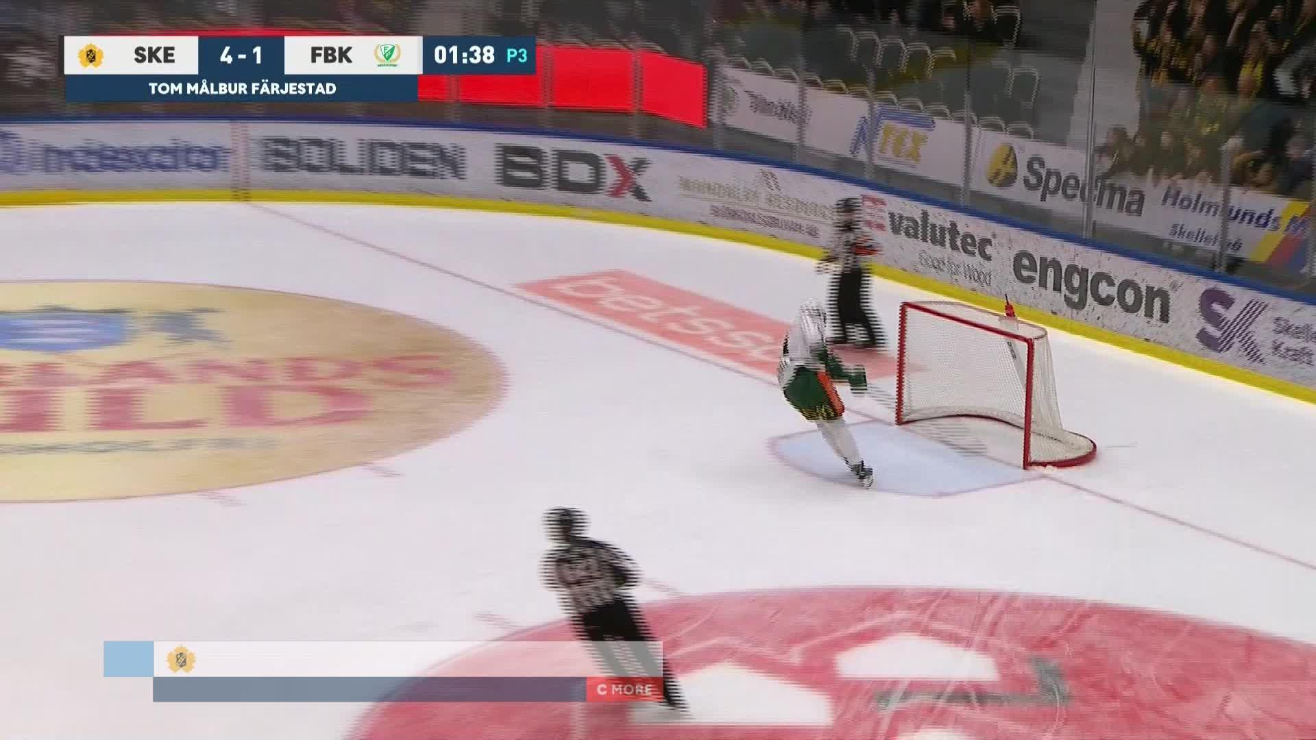 Skellefteå AIK - Färjestad BK 5-1