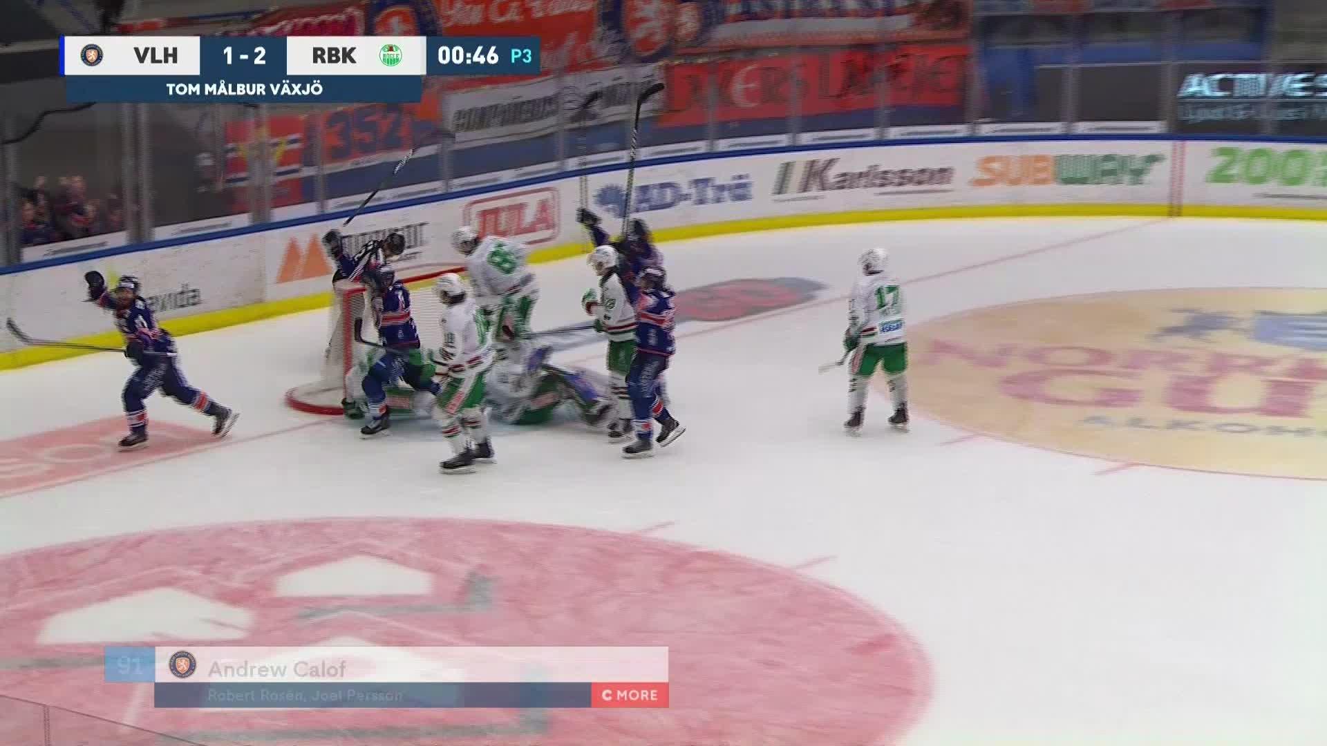 Växjö Lakers - Rögle BK 2-2
