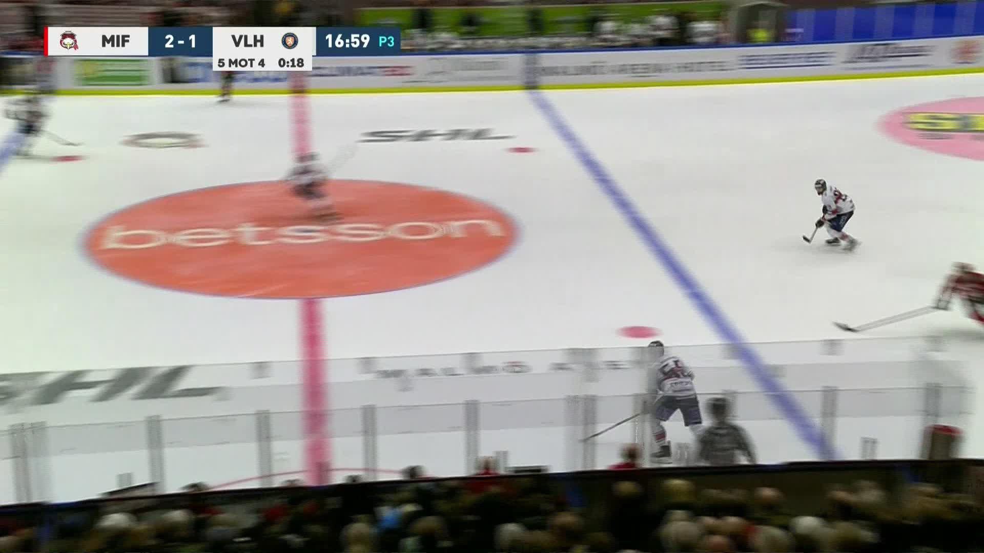 Malmö Redhawks - Växjö Lakers 2-2