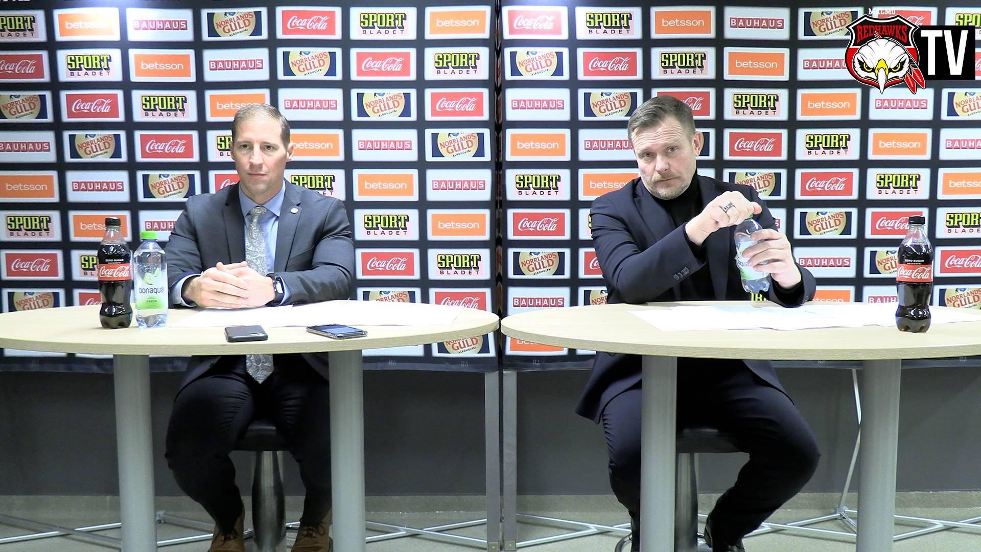 Presskonferens Malmö - Rögle