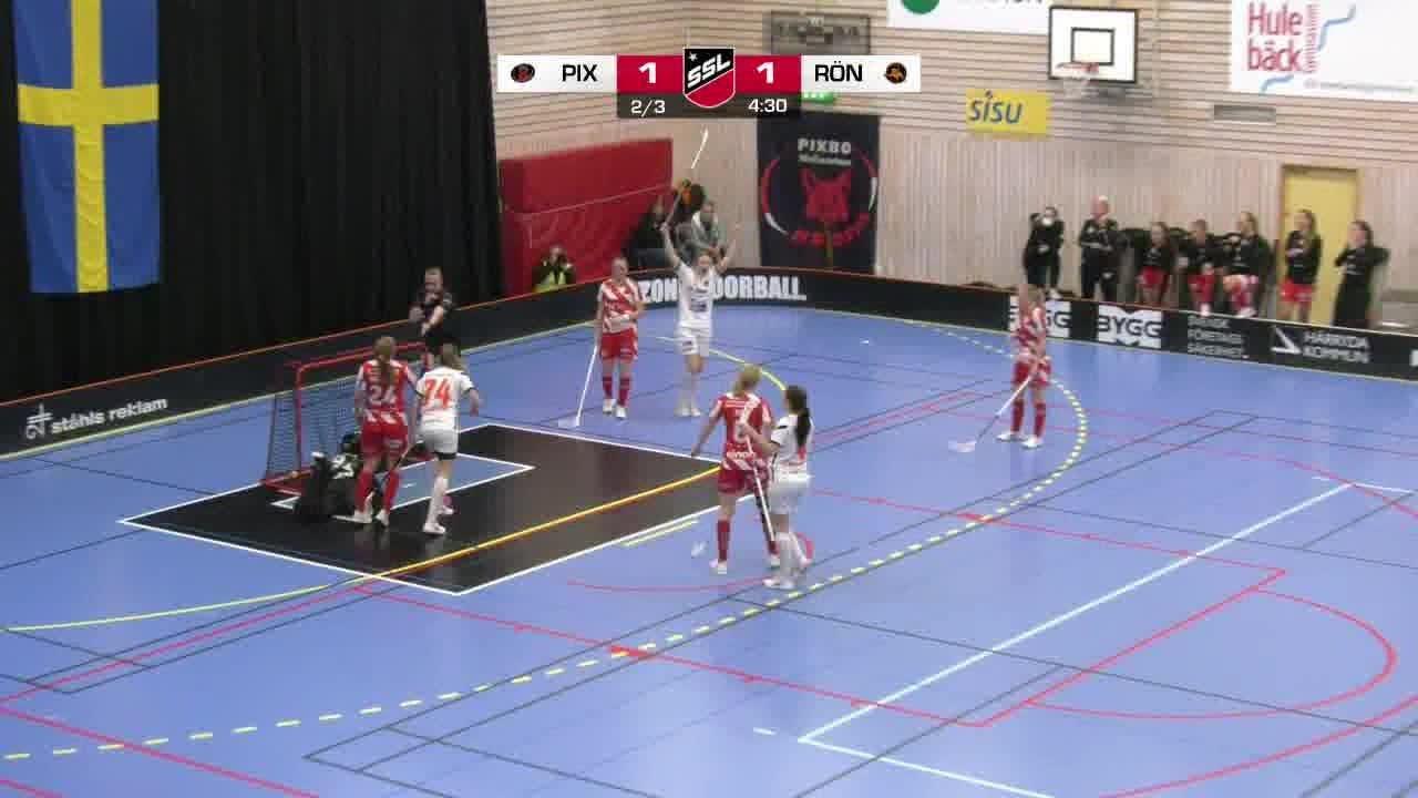 Highlights: Pixbo Wallenstam IBK-Västerås Rönnby IBK