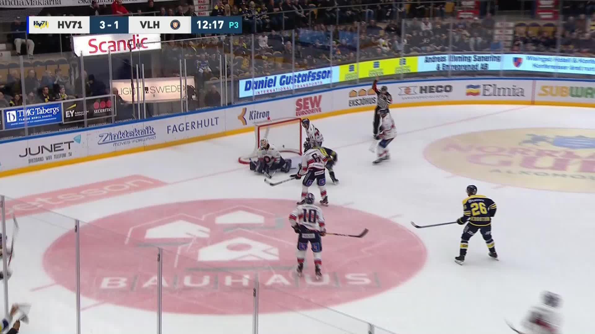 HV71 - Växjö Lakers 4-1