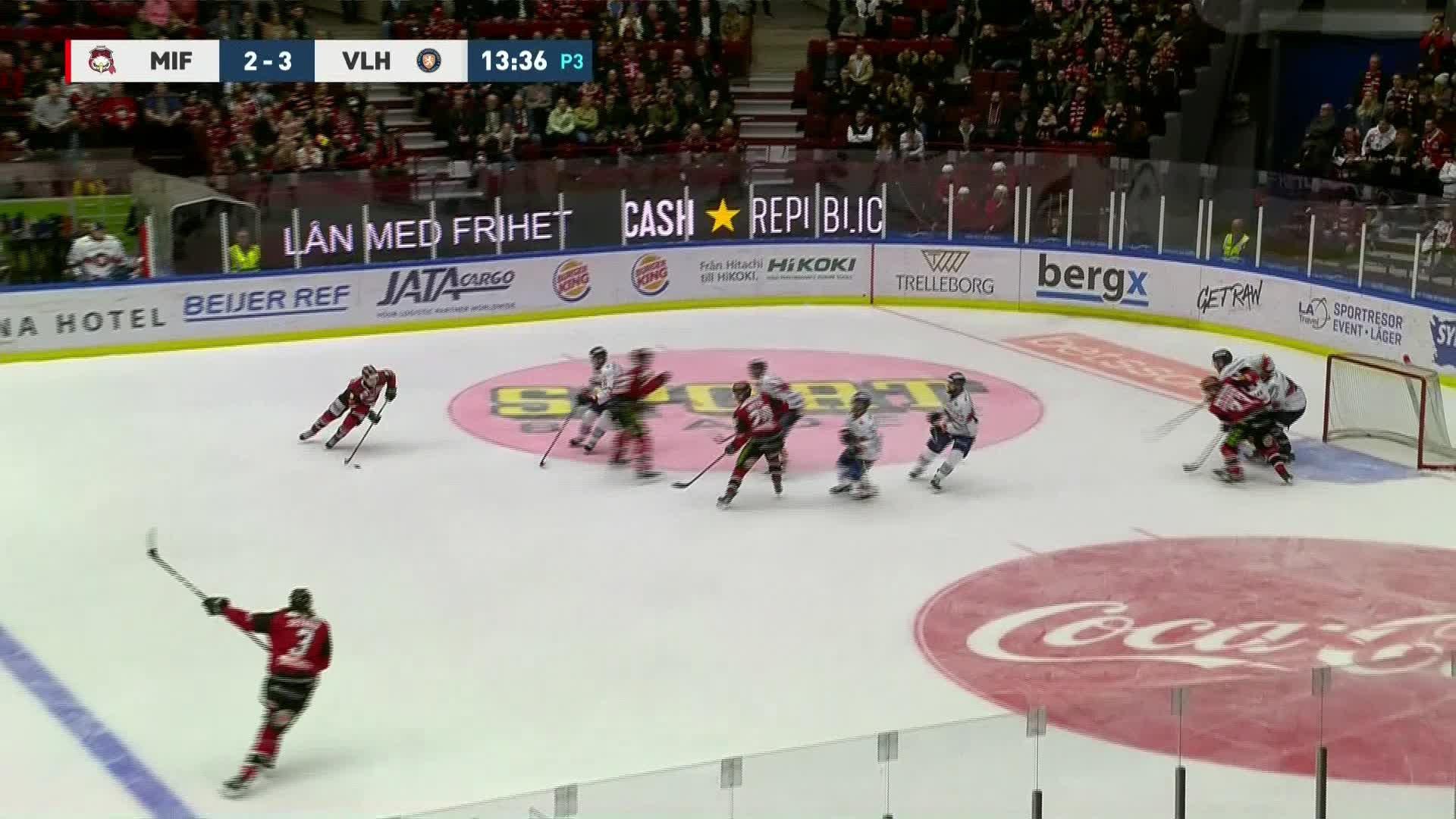 Malmö Redhawks - Växjö Lakers 3-3