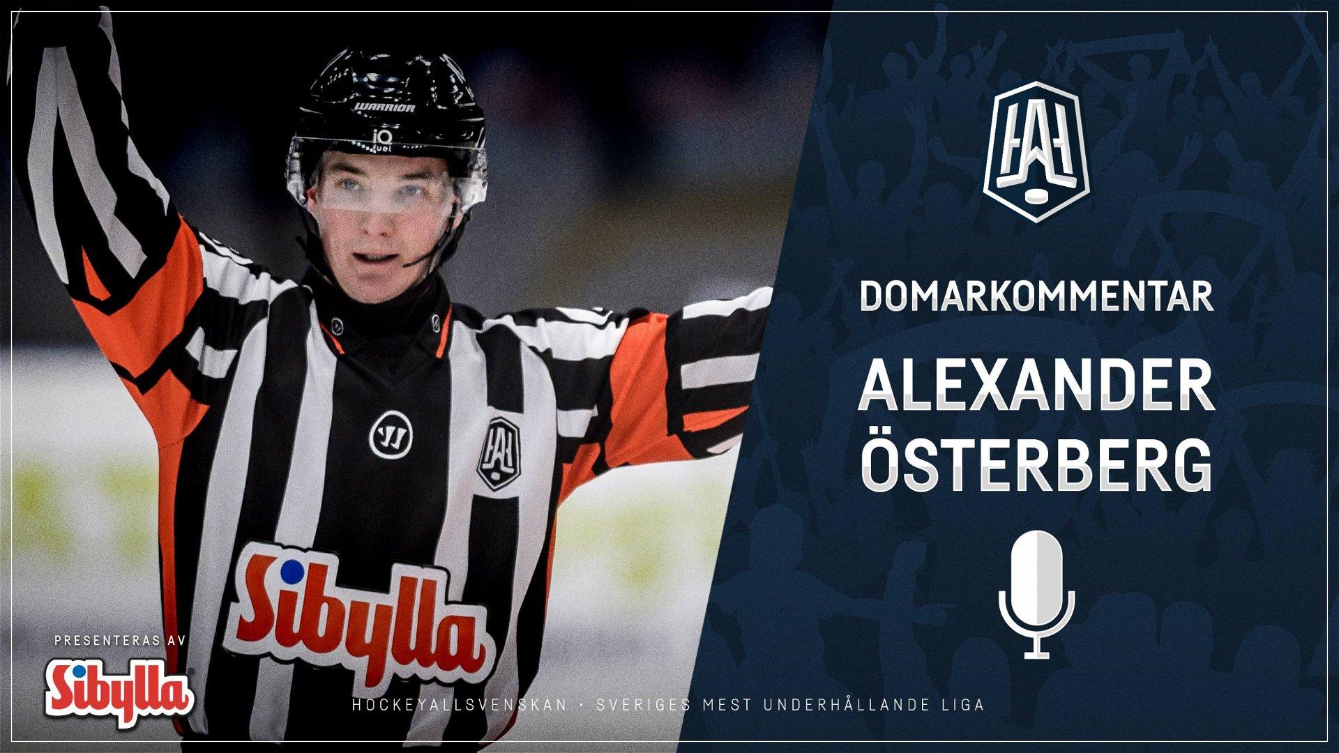 Domarkommentar: Alexander Österberg
