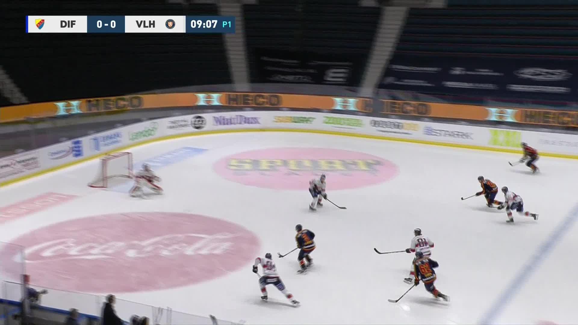 Djurgården Hockey - Växjö Lakers 1-0