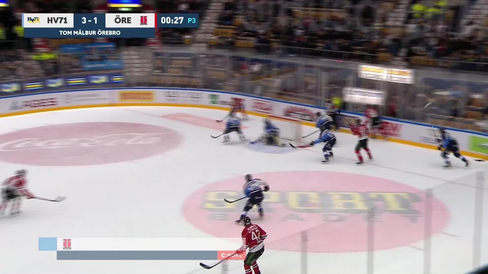 HV71 - Örebro Hockey 3-2