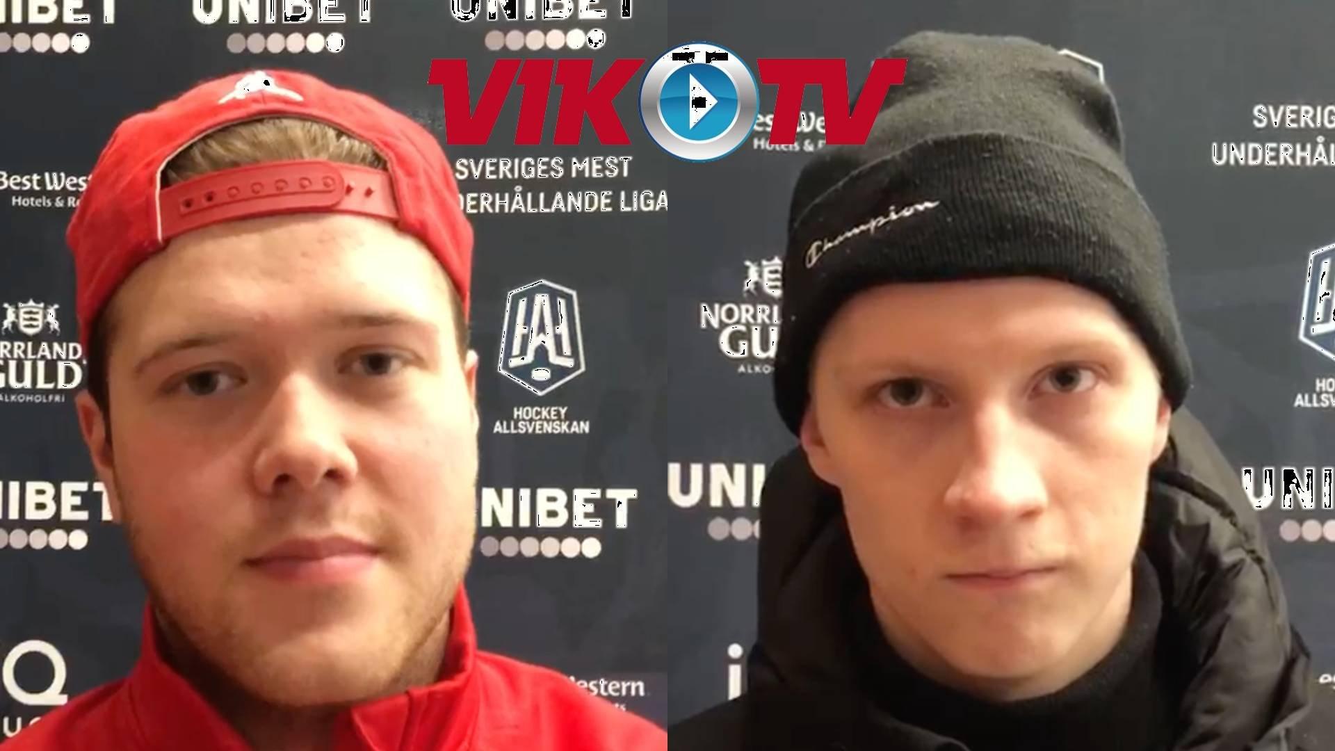 Intervjuer efter AIK-matchen