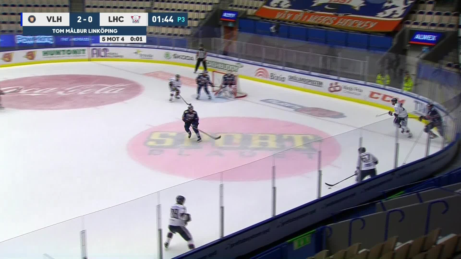 Växjö Lakers - Linköping HC 3-0