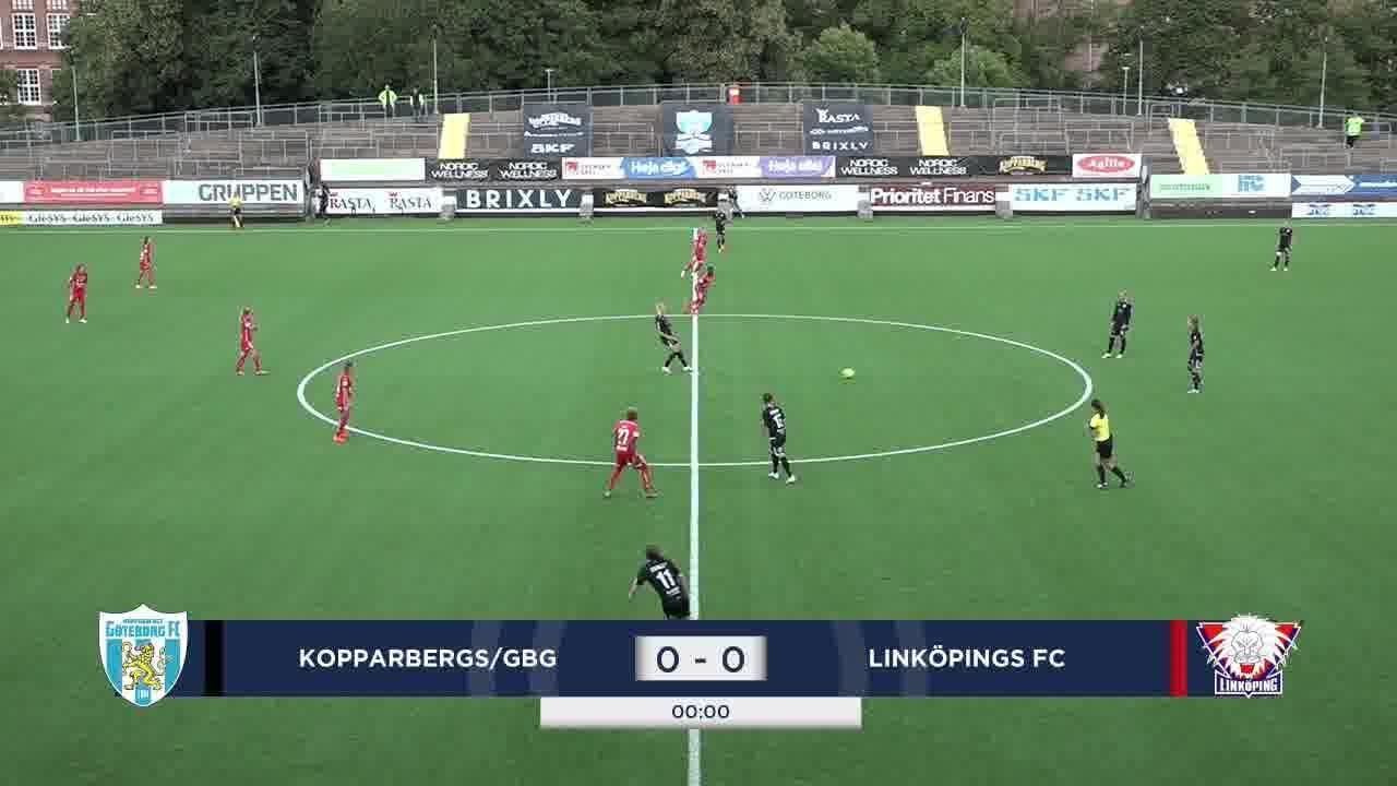 Highlights: Kopparbergs/Göteborg - Linköping 3 aug