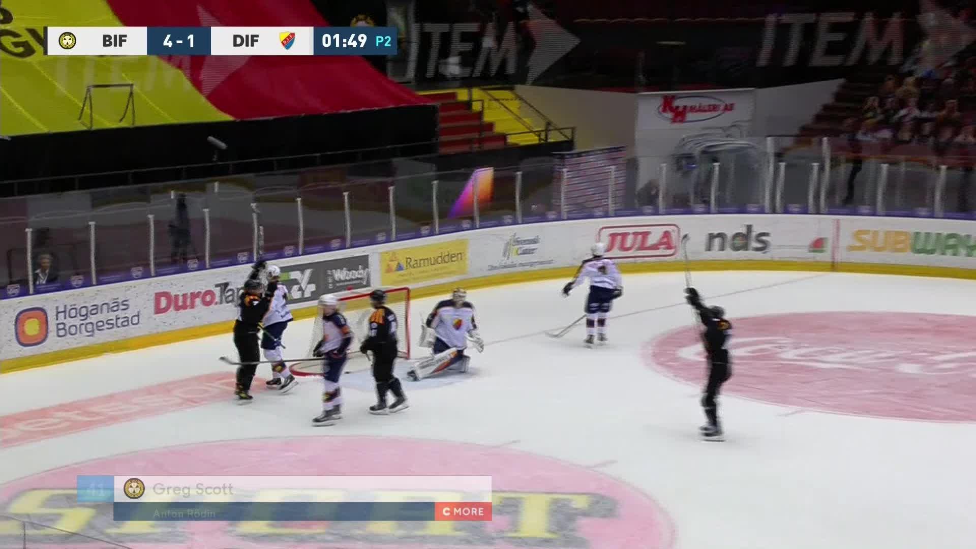 Brynäs IF - Djurgården Hockey 5-1