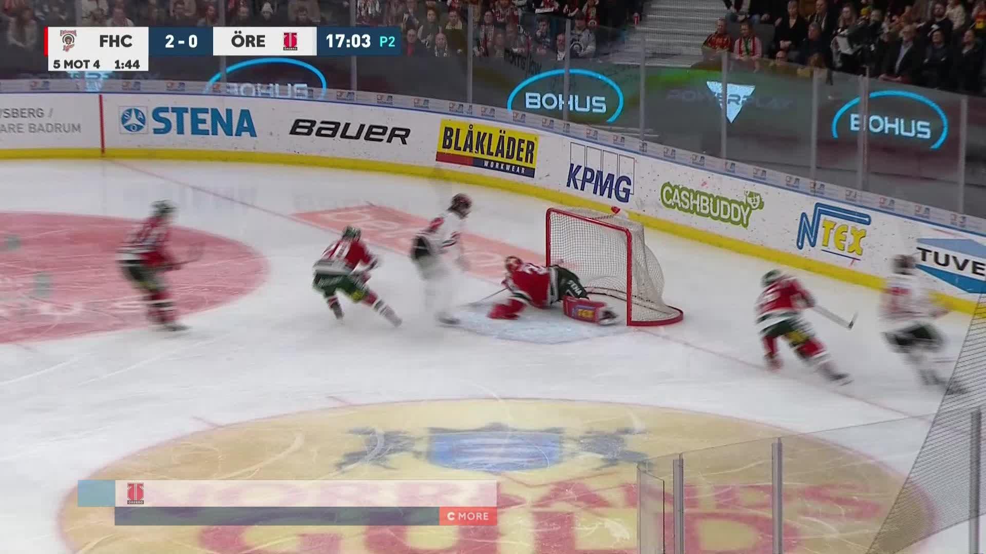 Frölunda HC - Örebro Hockey 2-1