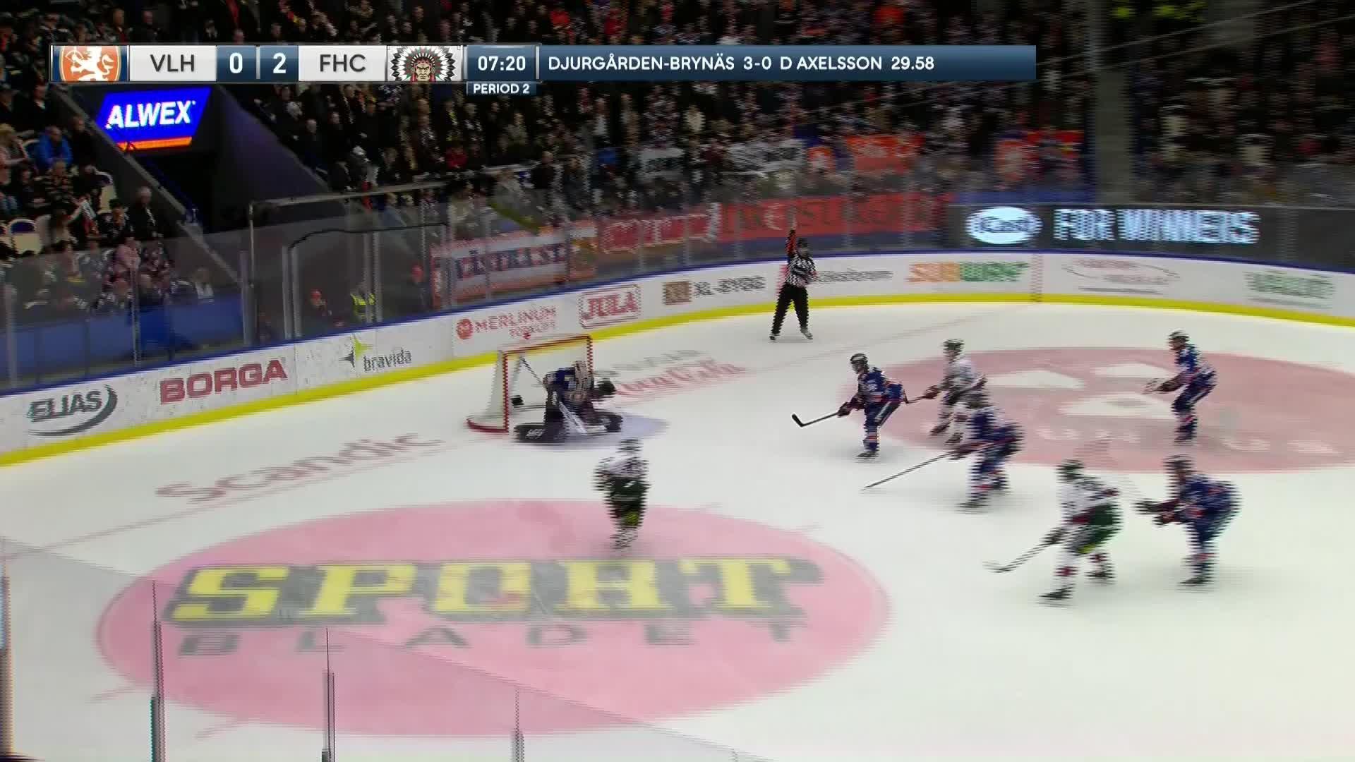 Växjö Lakers - Frölunda HC 0-3