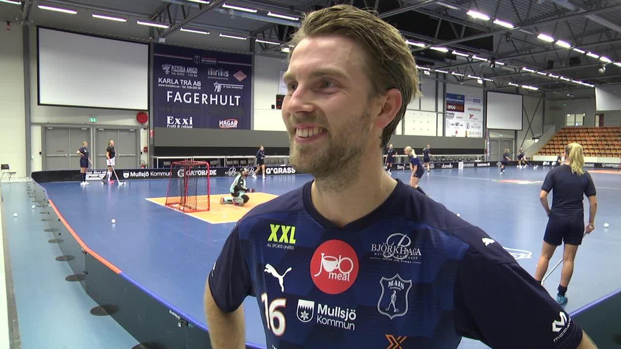 """Kasper Hedlund """"Otroligt sugen att spela match igen"""""""