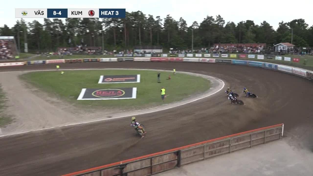 Highlights: Västervik Speedway - Kumla Indianerna