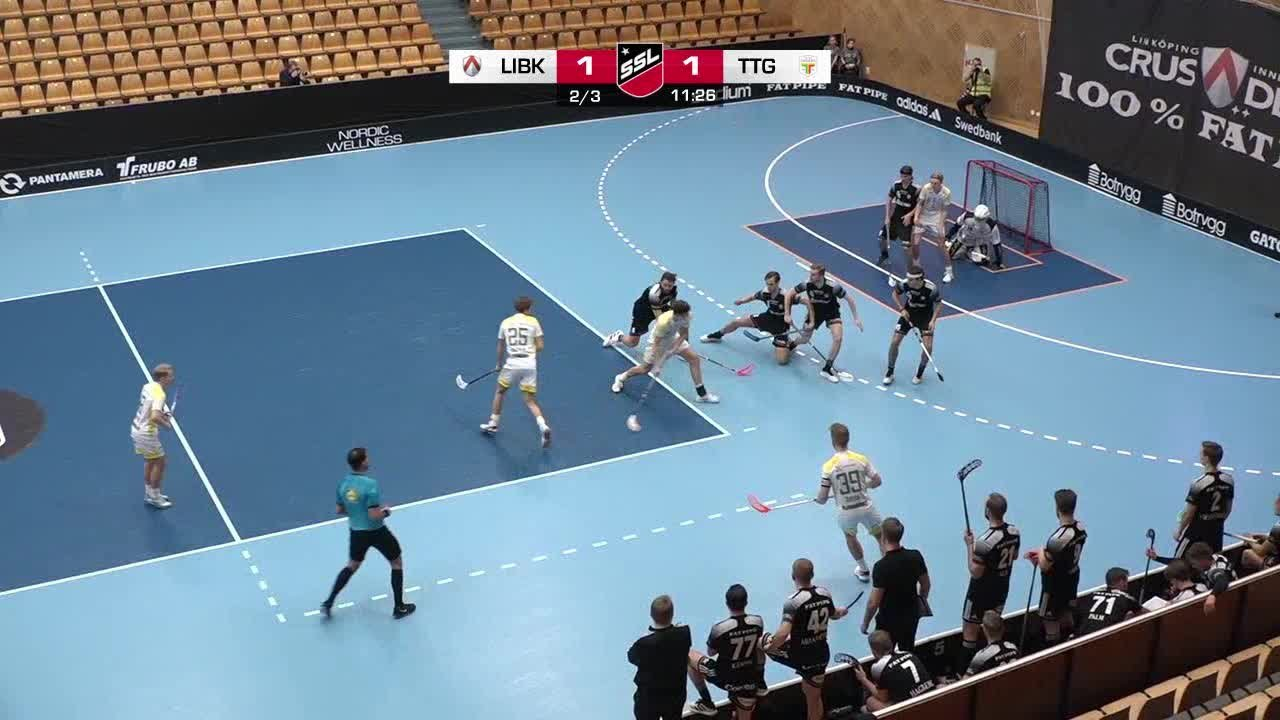 Highlights: Linköping Innebandy - Team Thorengruppen