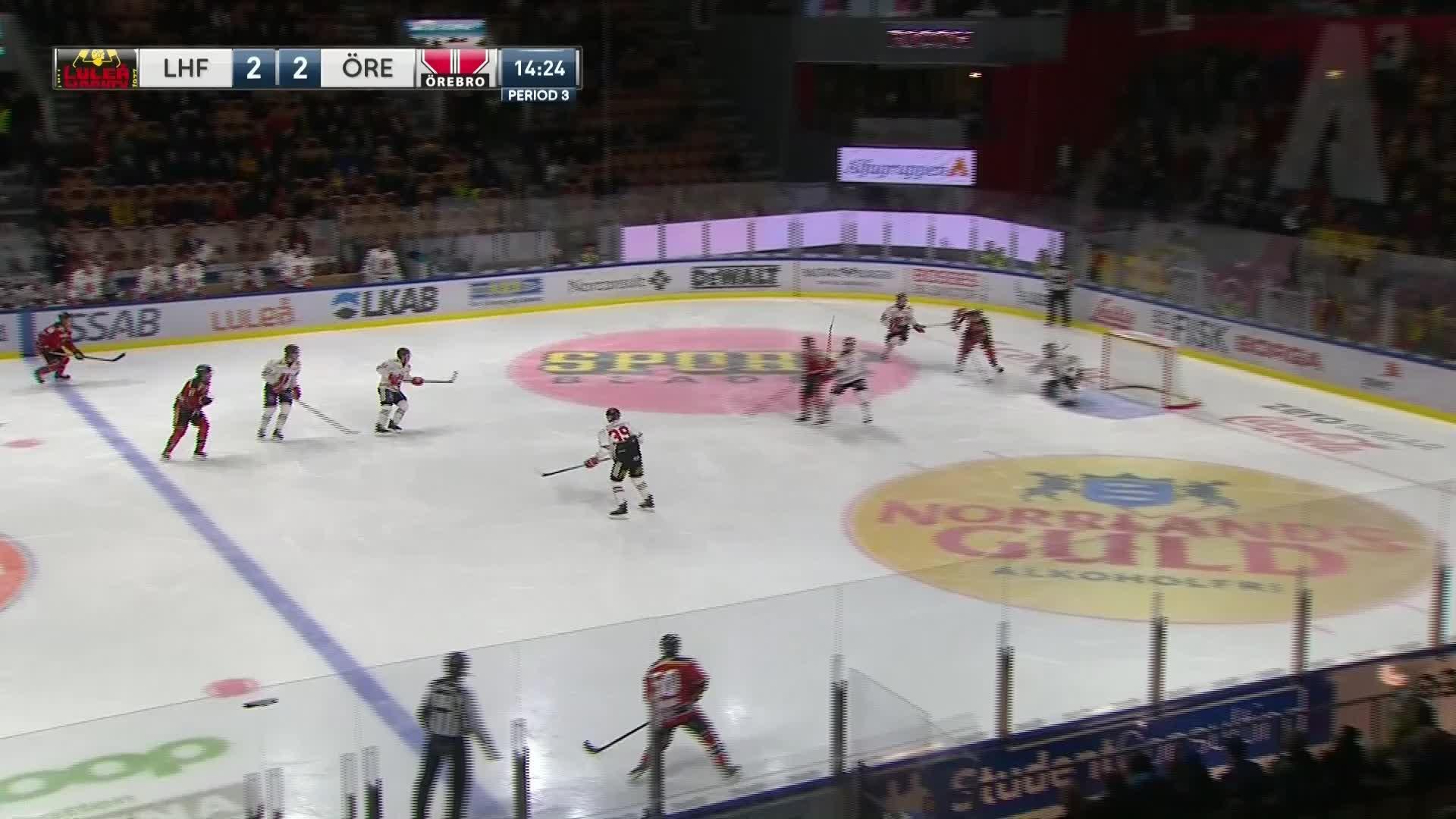 Luleå Hockey - Örebro Hockey 3-2