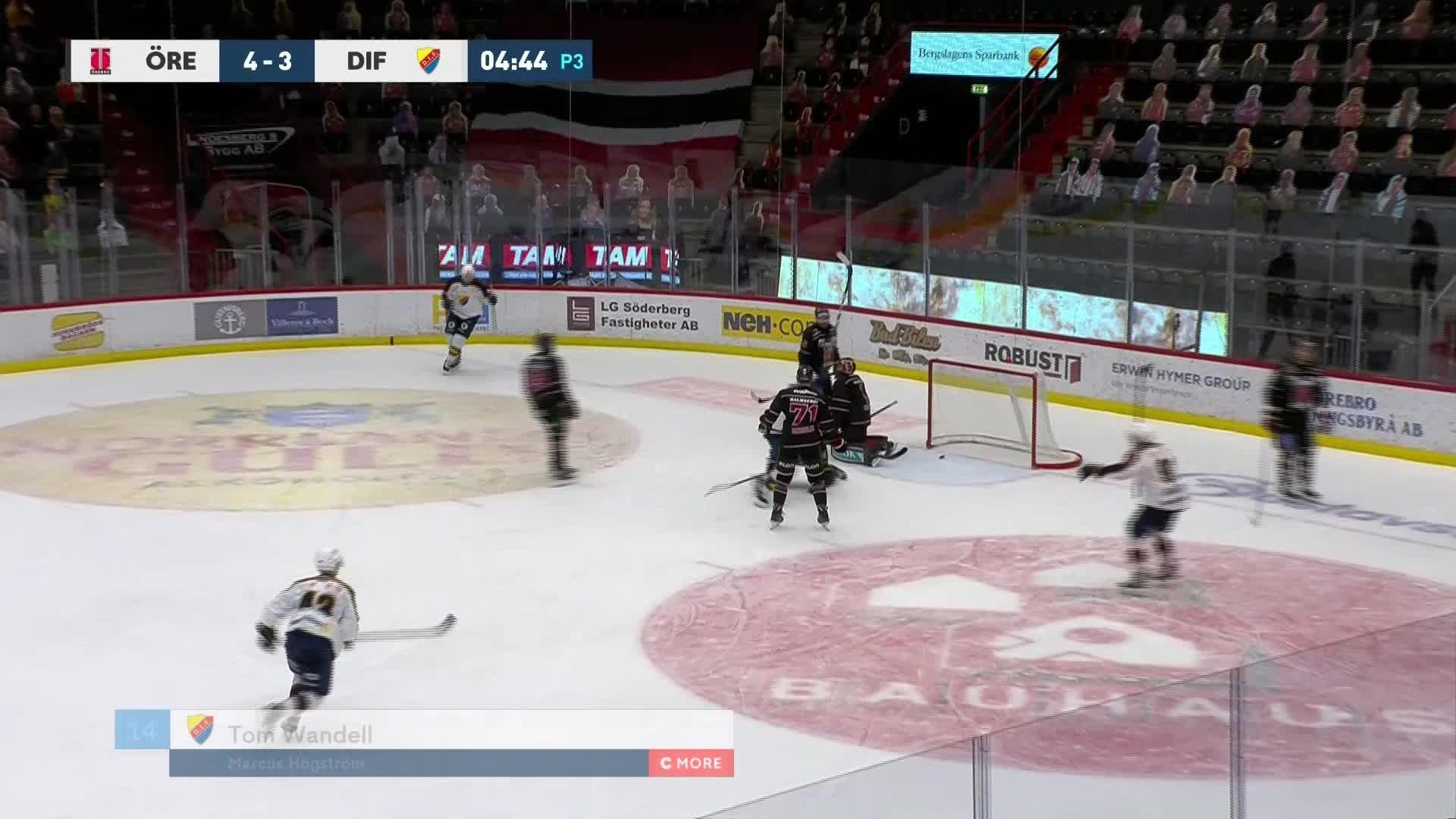 Örebro Hockey - Djurgården Hockey 4-4