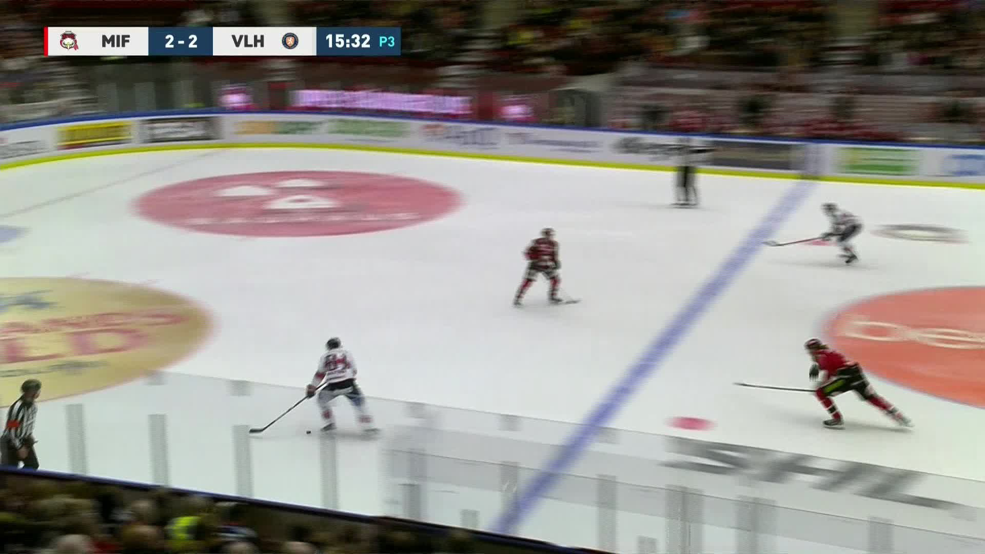 Malmö Redhawks - Växjö Lakers 2-3
