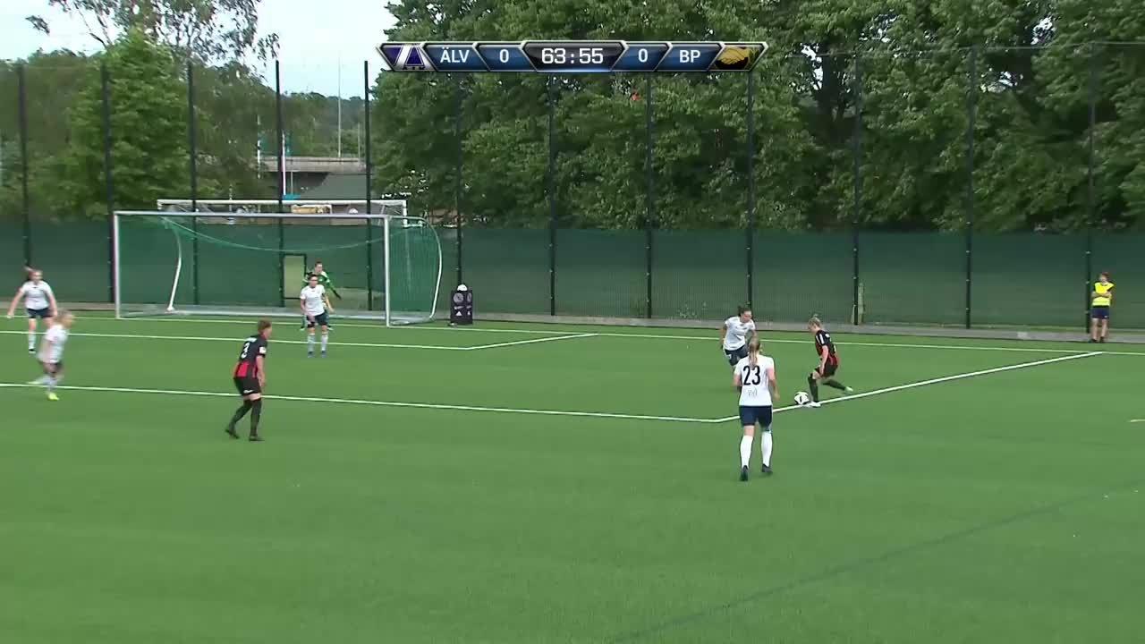 Highlights: Älvsjö AIK FF-Brommapojkarna
