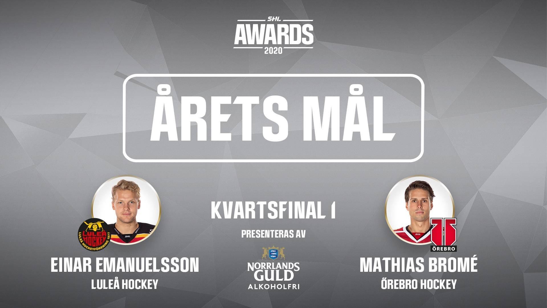 Årets mål 2019/2020 - Kvartsfinal 1
