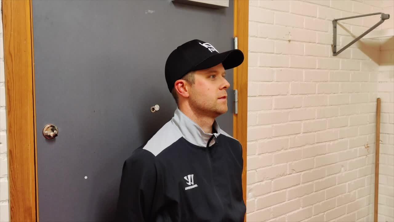 Filip Sandstedt efter Kristianstad-MODO