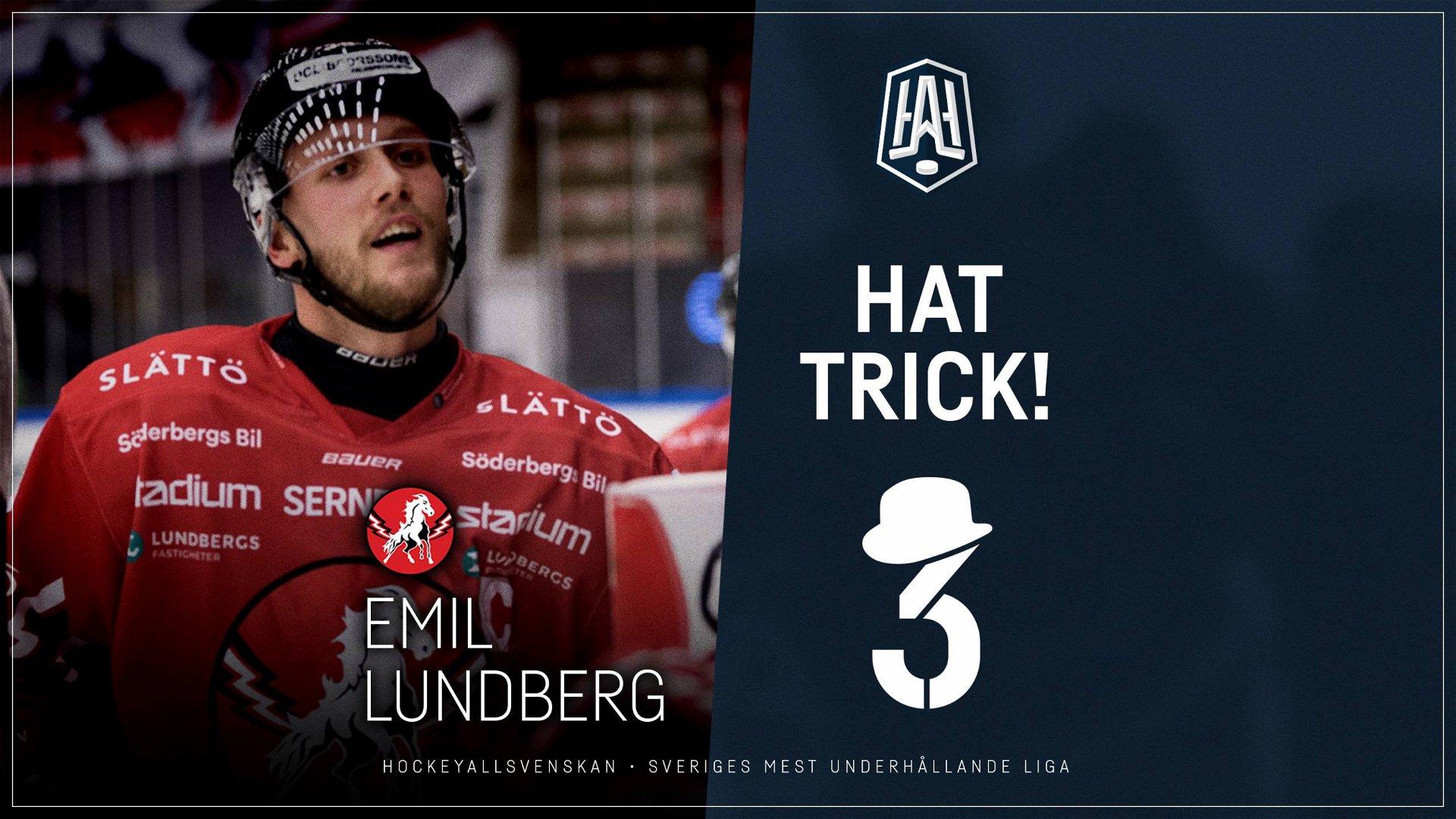 Hattrick: Emil Lundberg, Vita Hästen