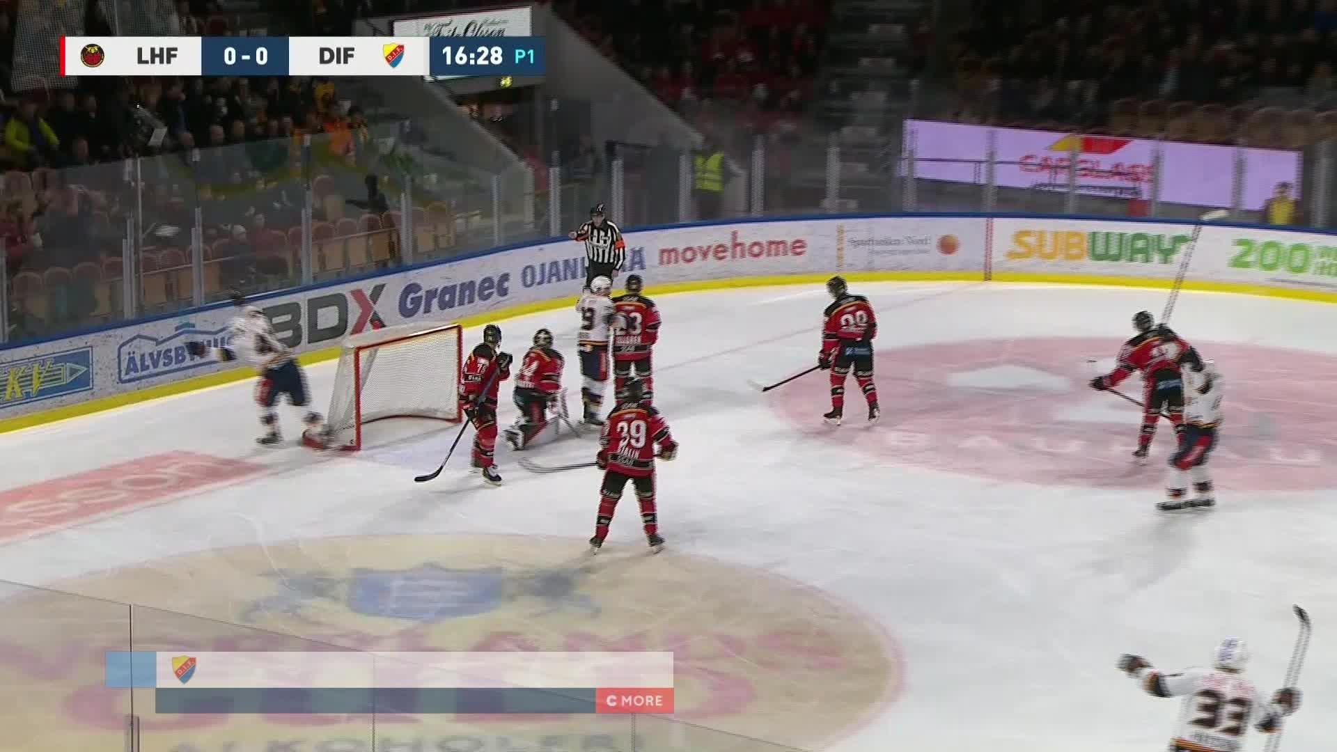 Luleå Hockey - Djurgården Hockey 0-1
