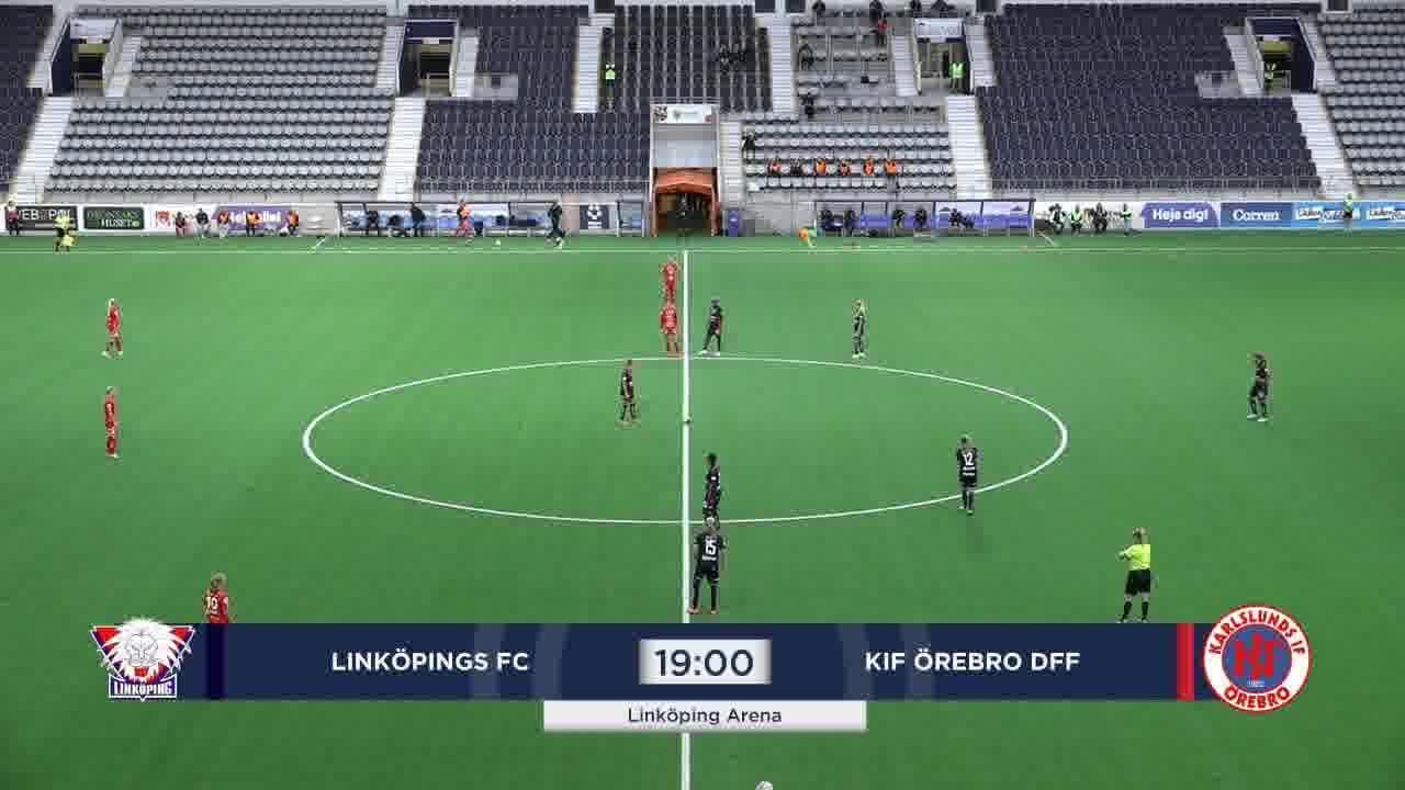 Highlights: Linköping - KIF Örebro 29 juli