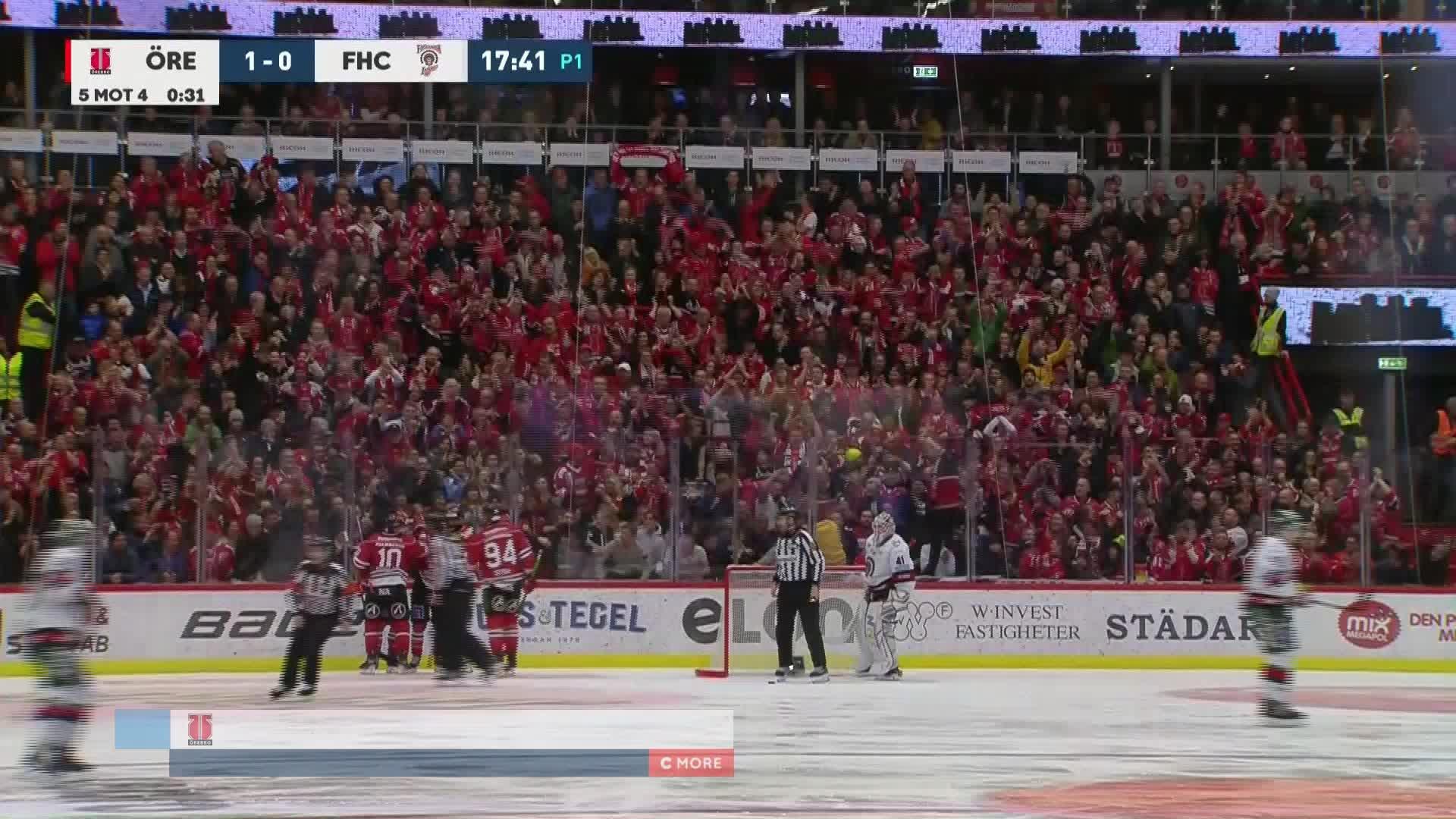 Örebro Hockey - Frölunda HC 1-0
