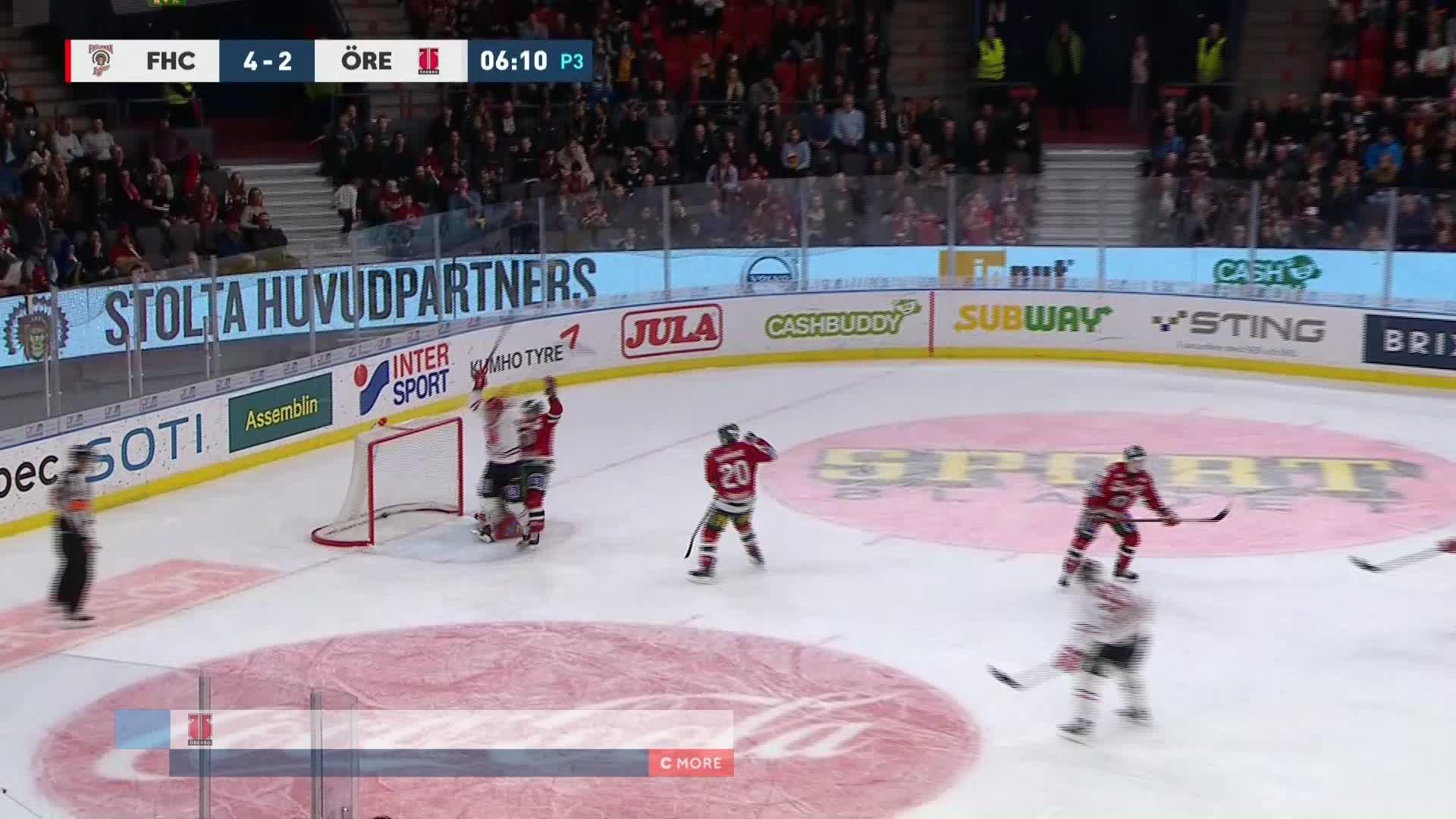 Frölunda HC - Örebro Hockey 4-3