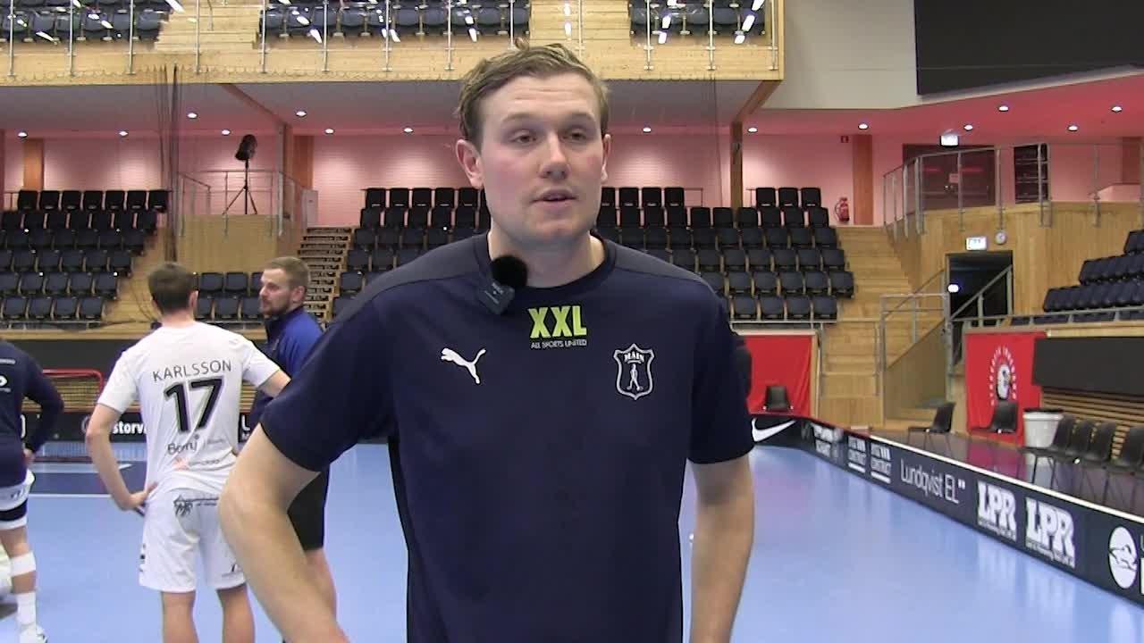 Intervju med Anton Hedin efter Semifinal 3