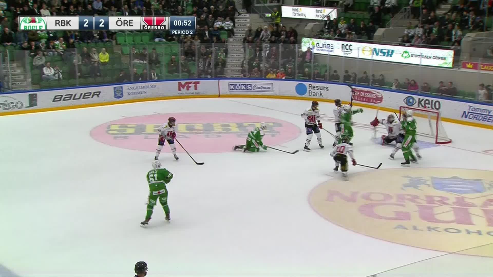 Rögle BK - Örebro Hockey 3-2