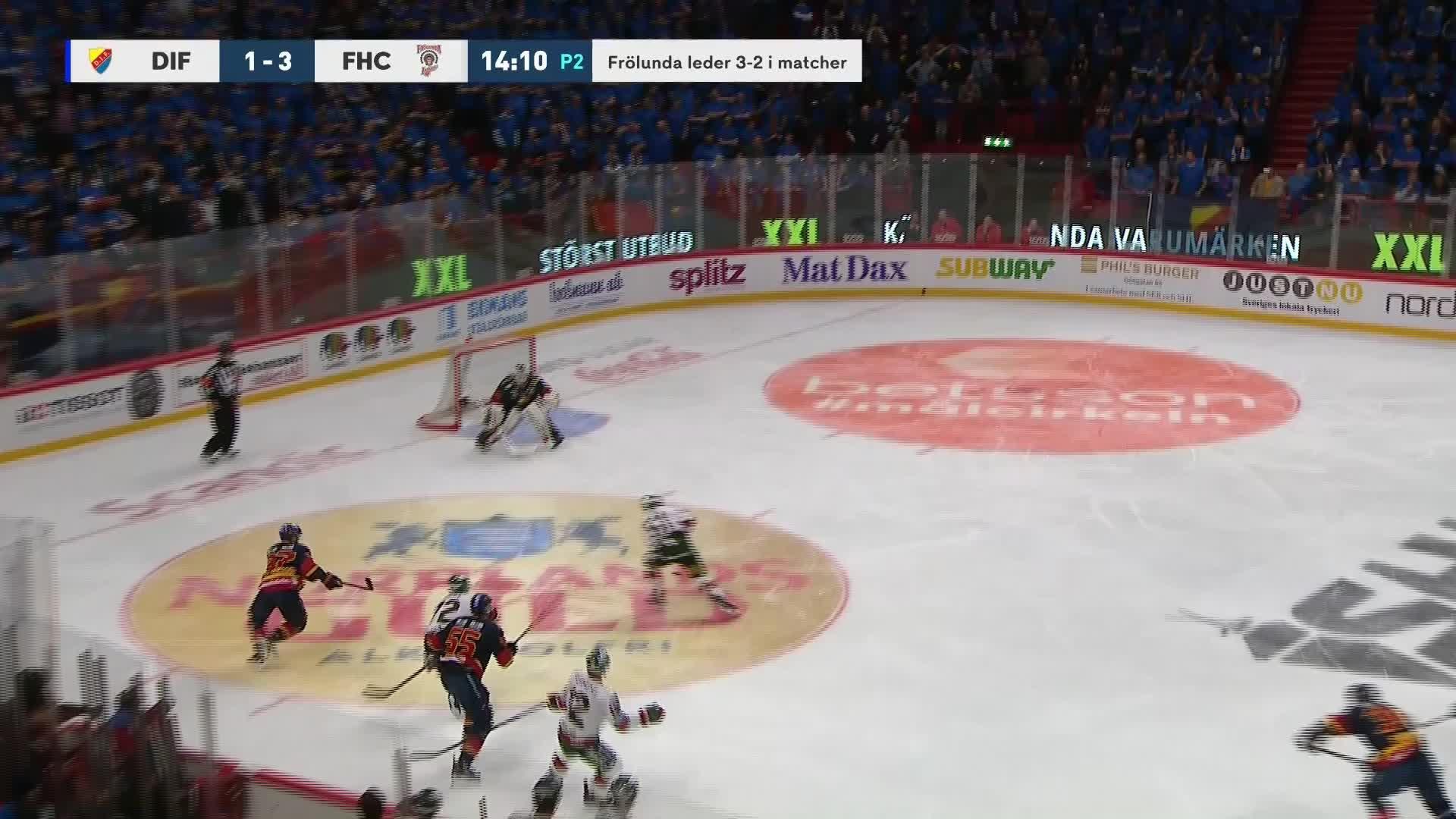 Djurgården Hockey - Frölunda HC 1-4