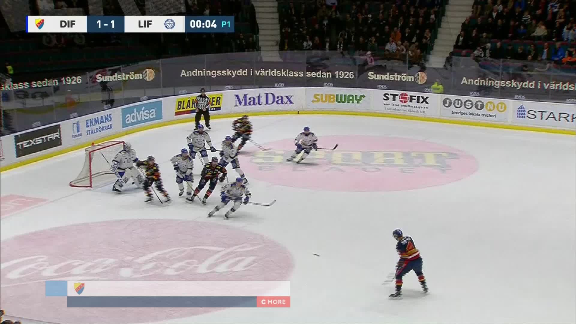 Djurgården Hockey - Leksands IF 2-1