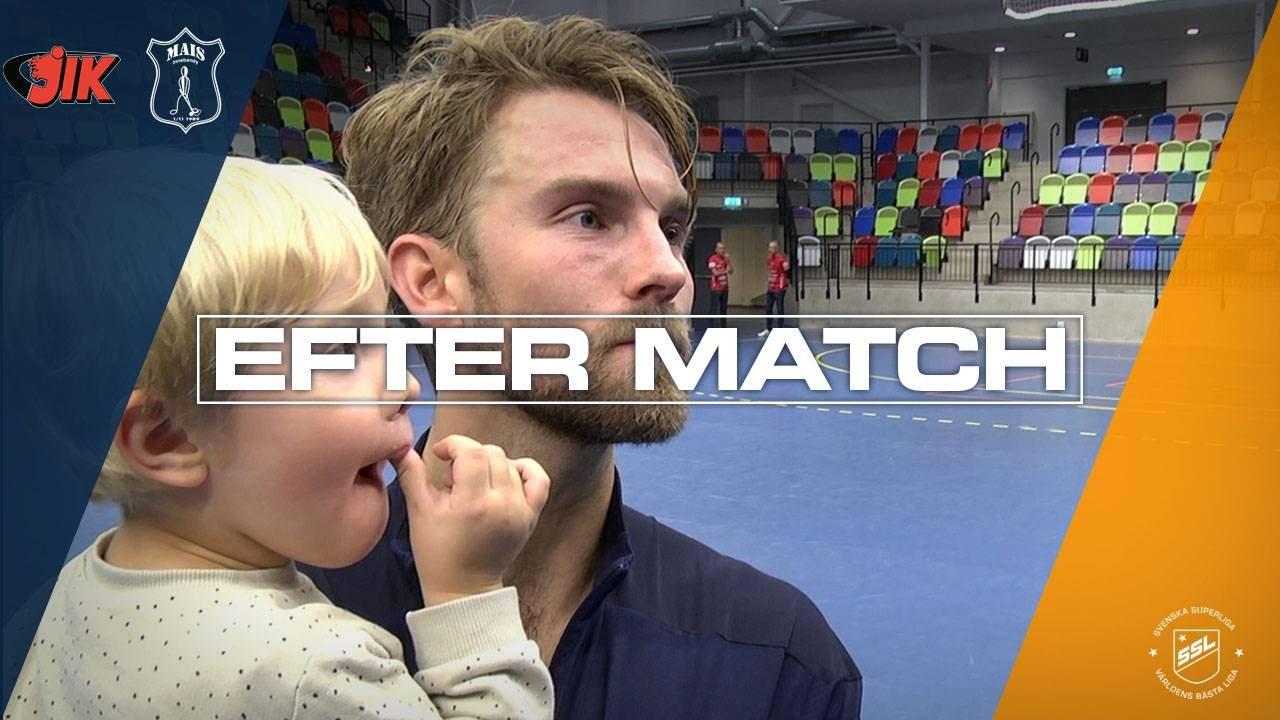 Hedlund efter segern mot JIK i Omgång 3