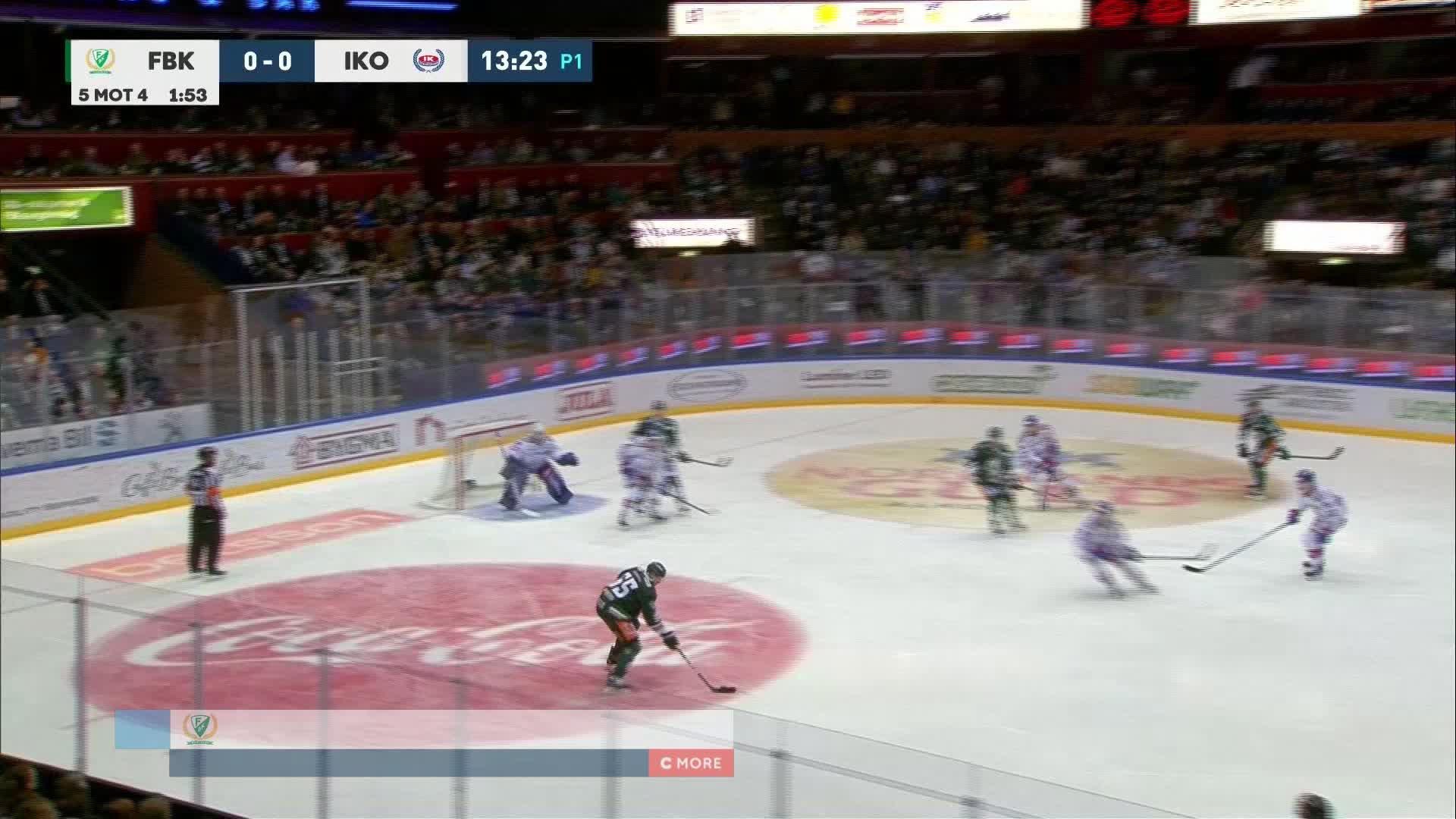 Färjestad BK - IK Oskarshamn 1-0