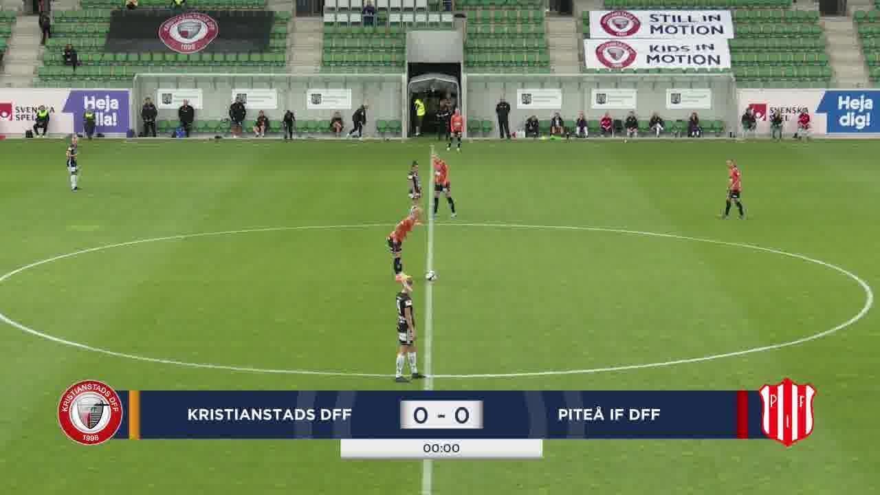 Highlights: Kristianstad – Piteå 29 juli