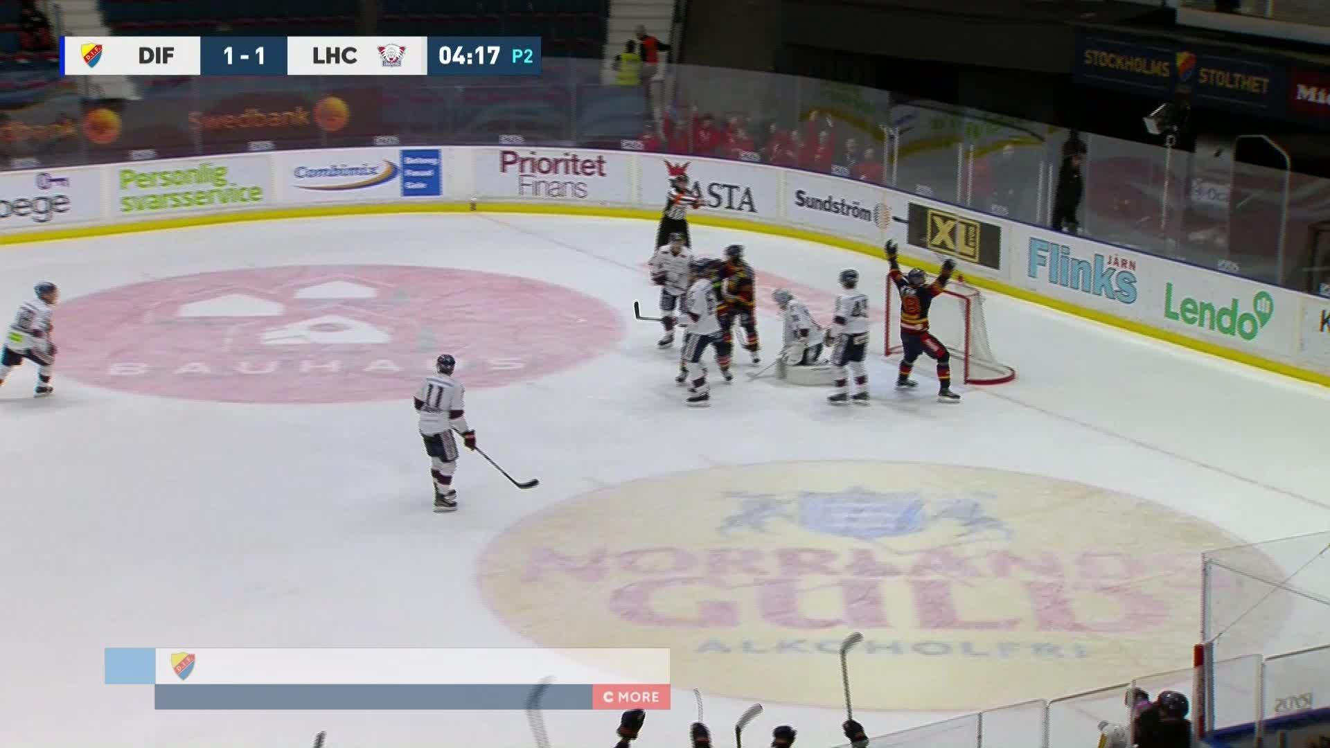 Djurgården Hockey - Linköping HC 2-1