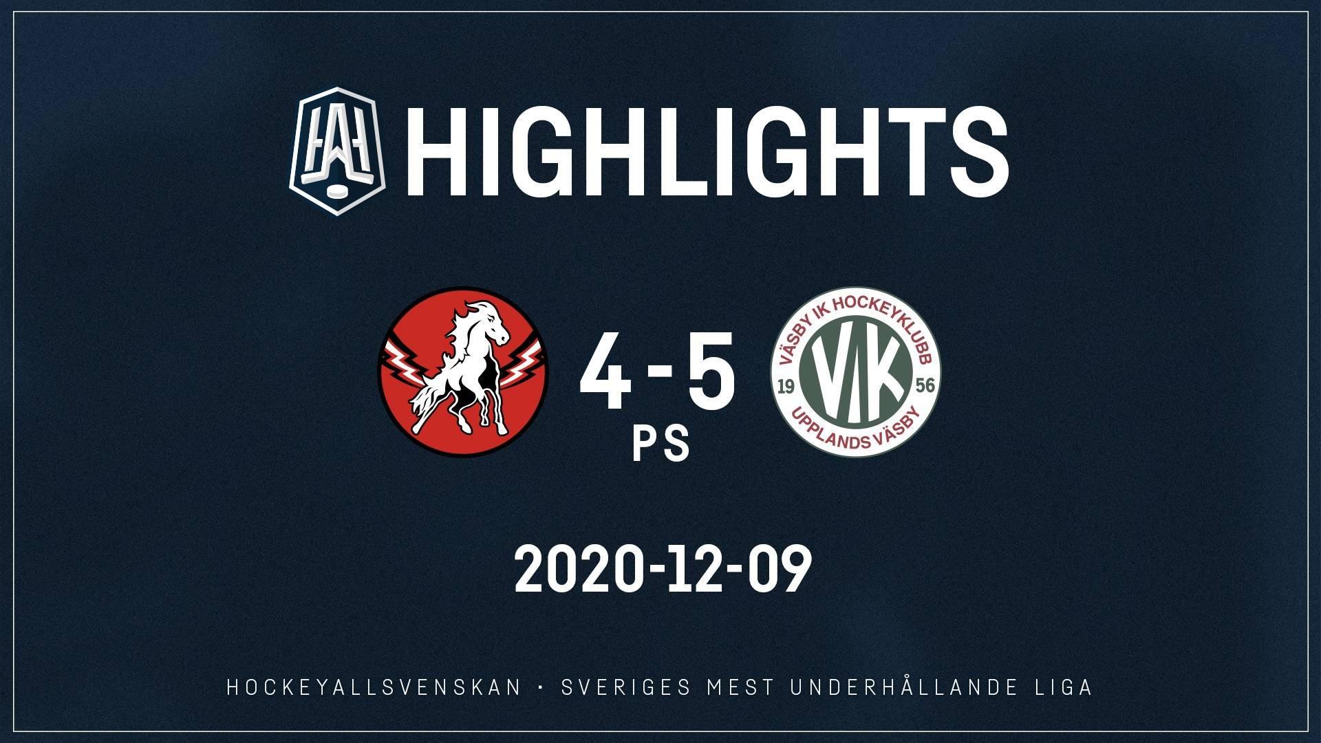 2020-12-09 Vita Hästen - Väsby 4-5 (PS)